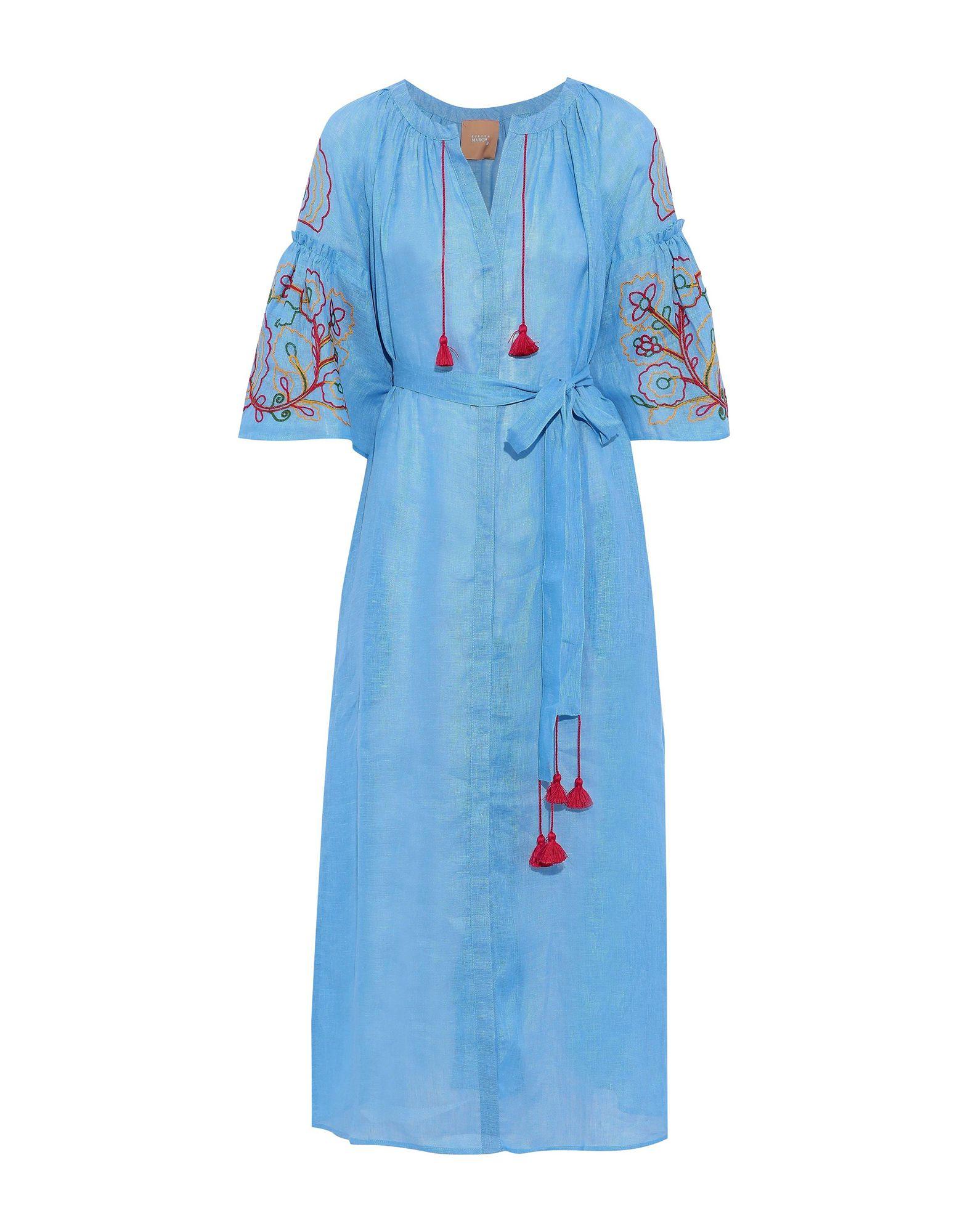 ELEVEN MARCH11 Длинное платье