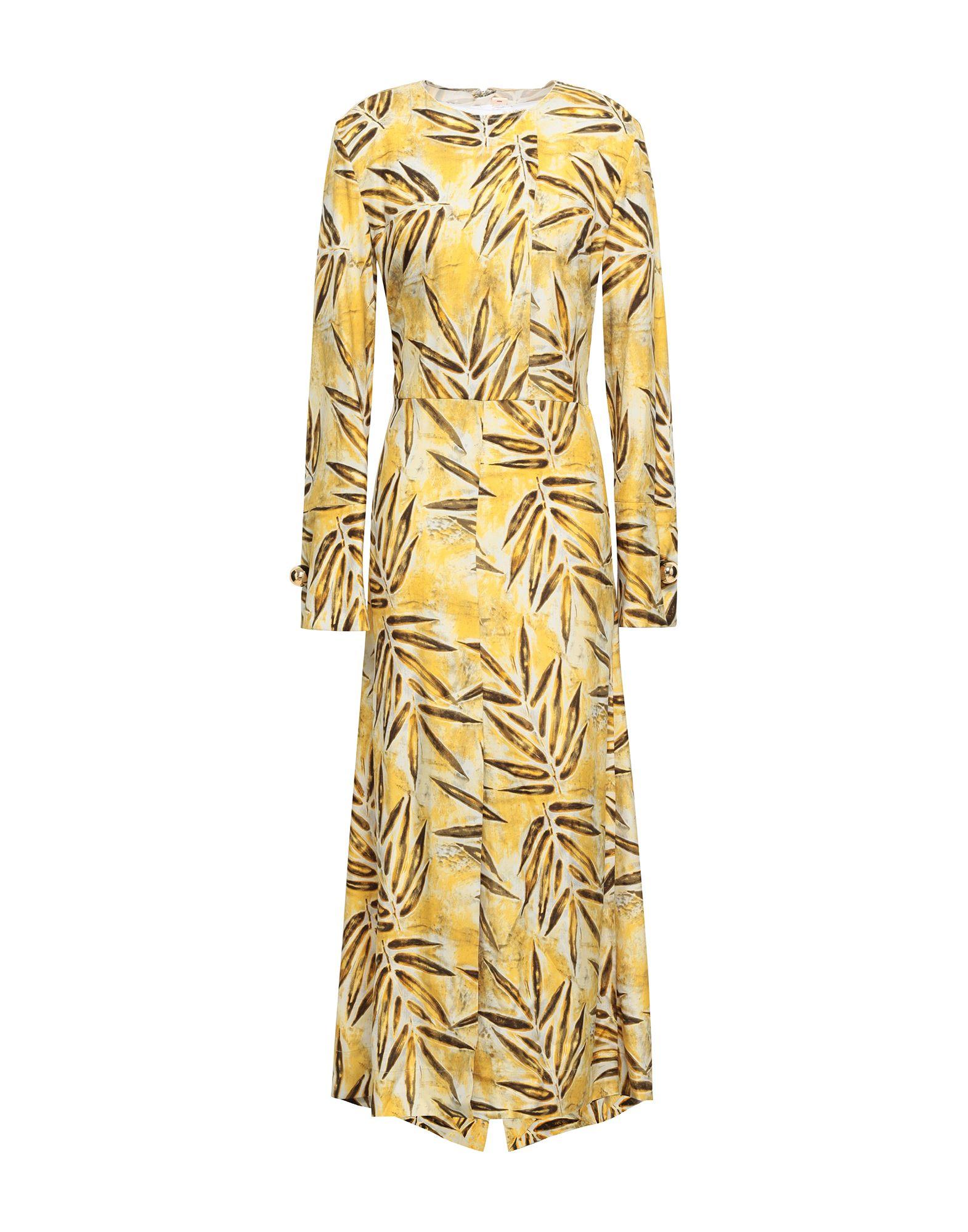 MARNI Длинное платье marni серое колье с подвесками из рога и мрамора marni