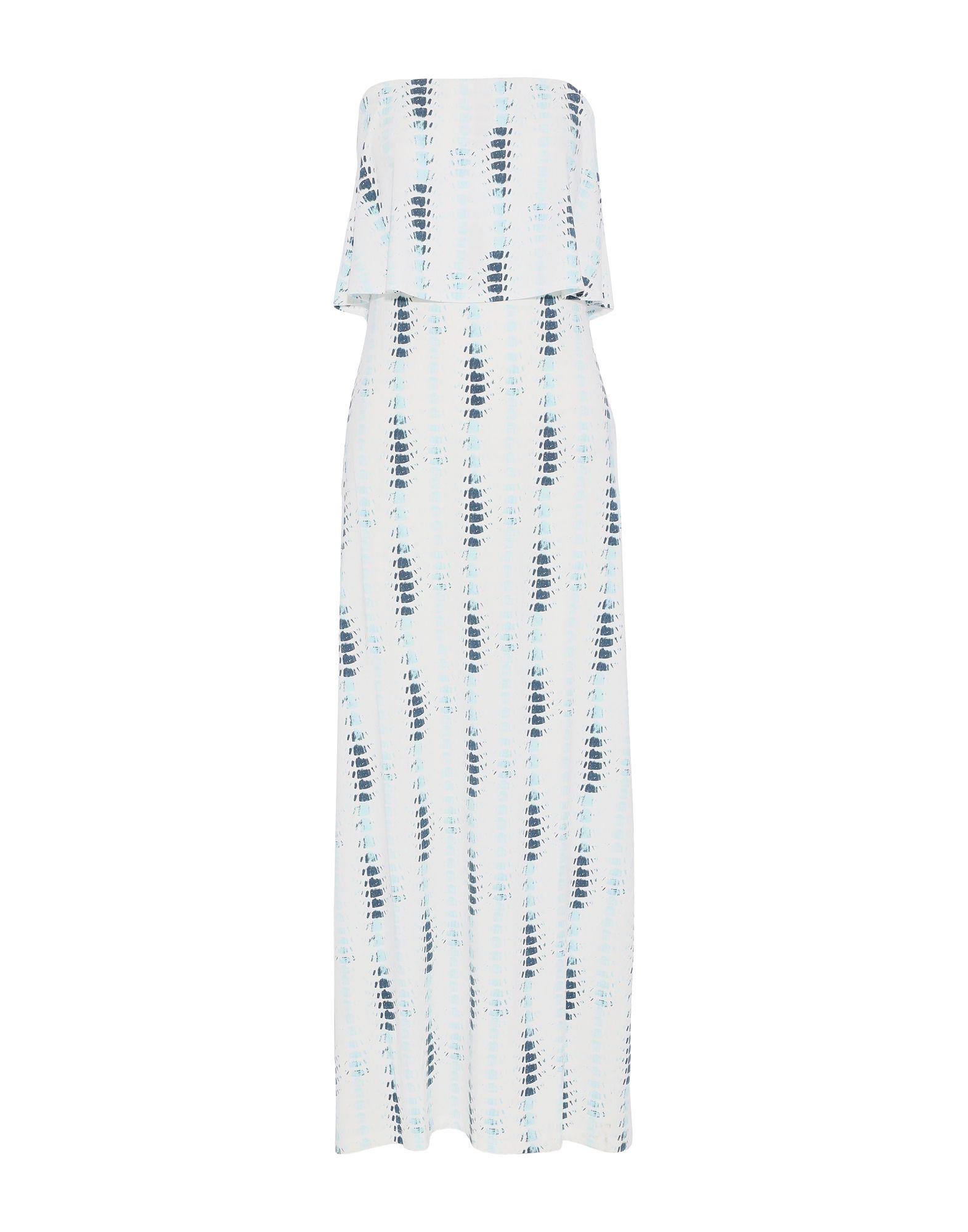 TART COLLECTIONS Длинное платье платье украшенное рюшей js collections