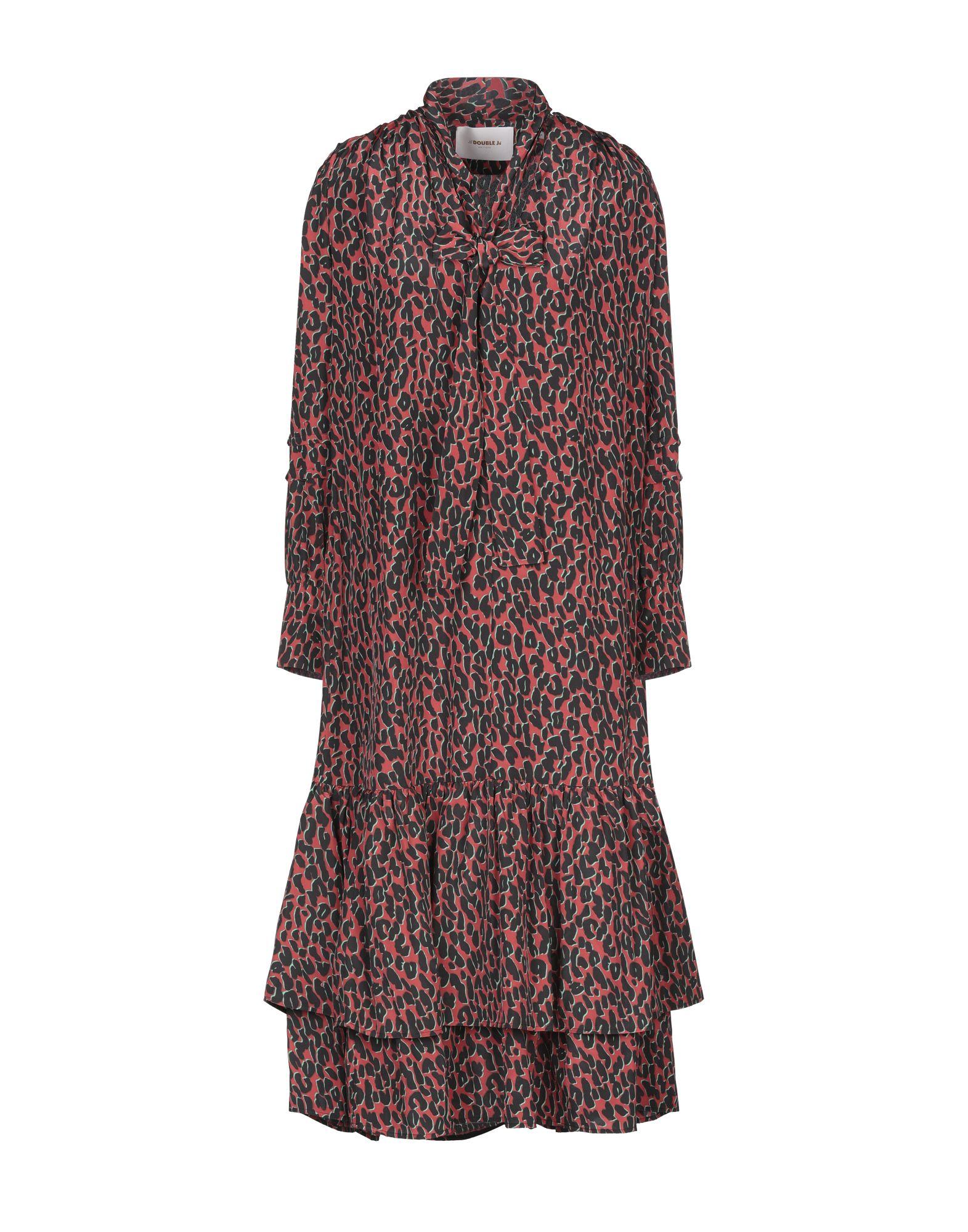 LA DOUBLE J. Платье длиной 3/4 goen j юбка длиной 3 4