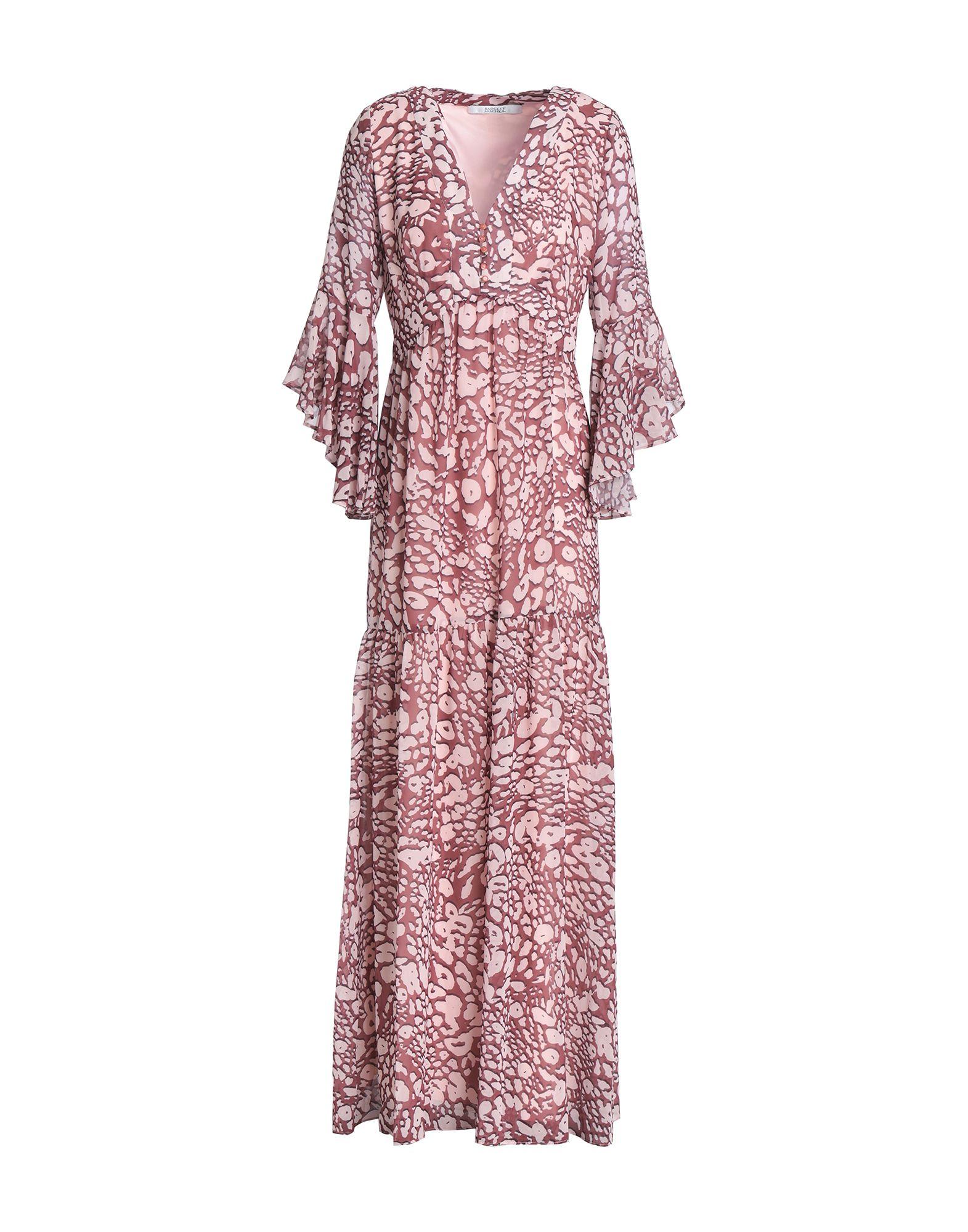 《セール開催中》BADGLEY MISCHKA レディース ロングワンピース&ドレス ピンク 8 ポリエステル 100%