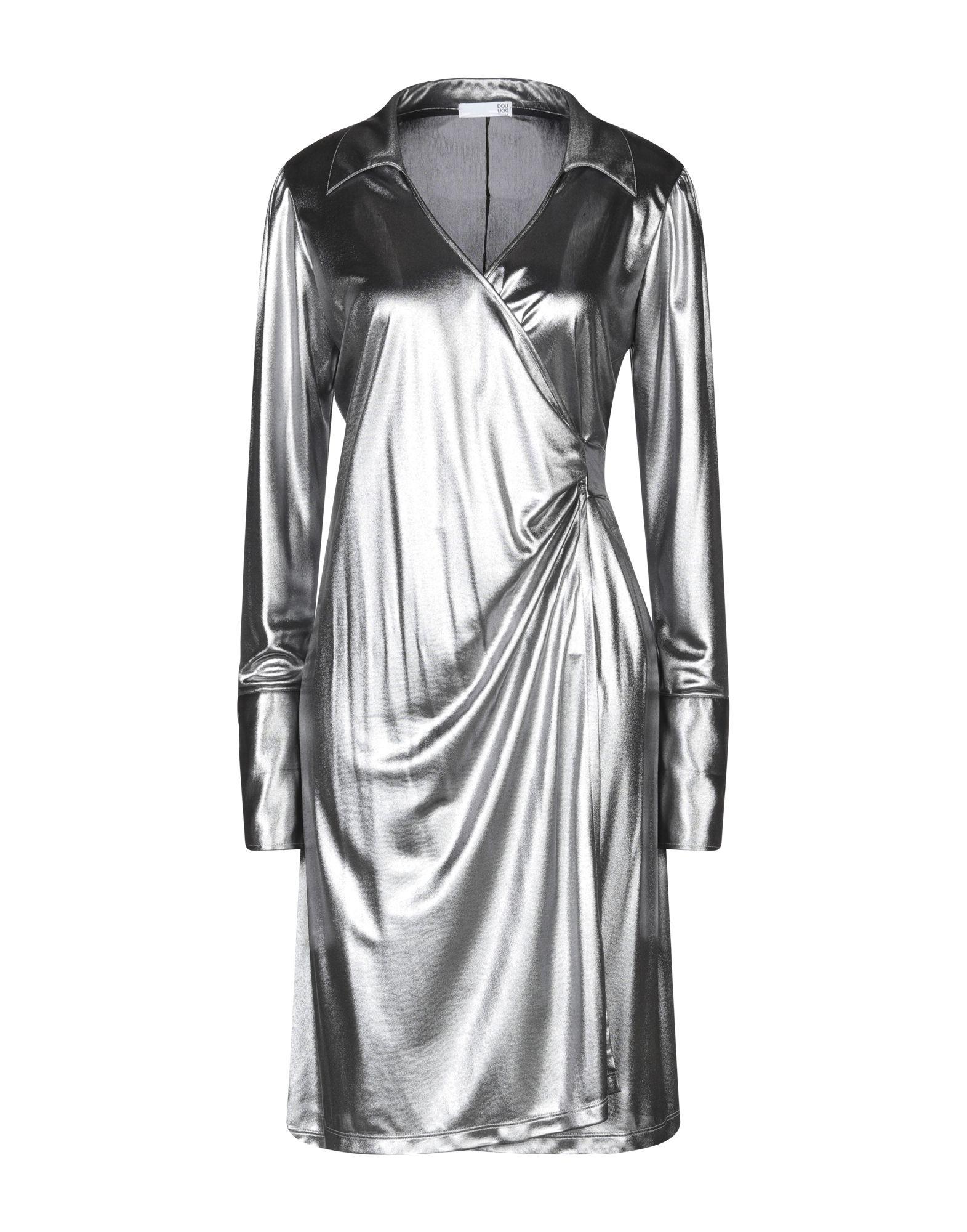 DOUUOD Платье до колена