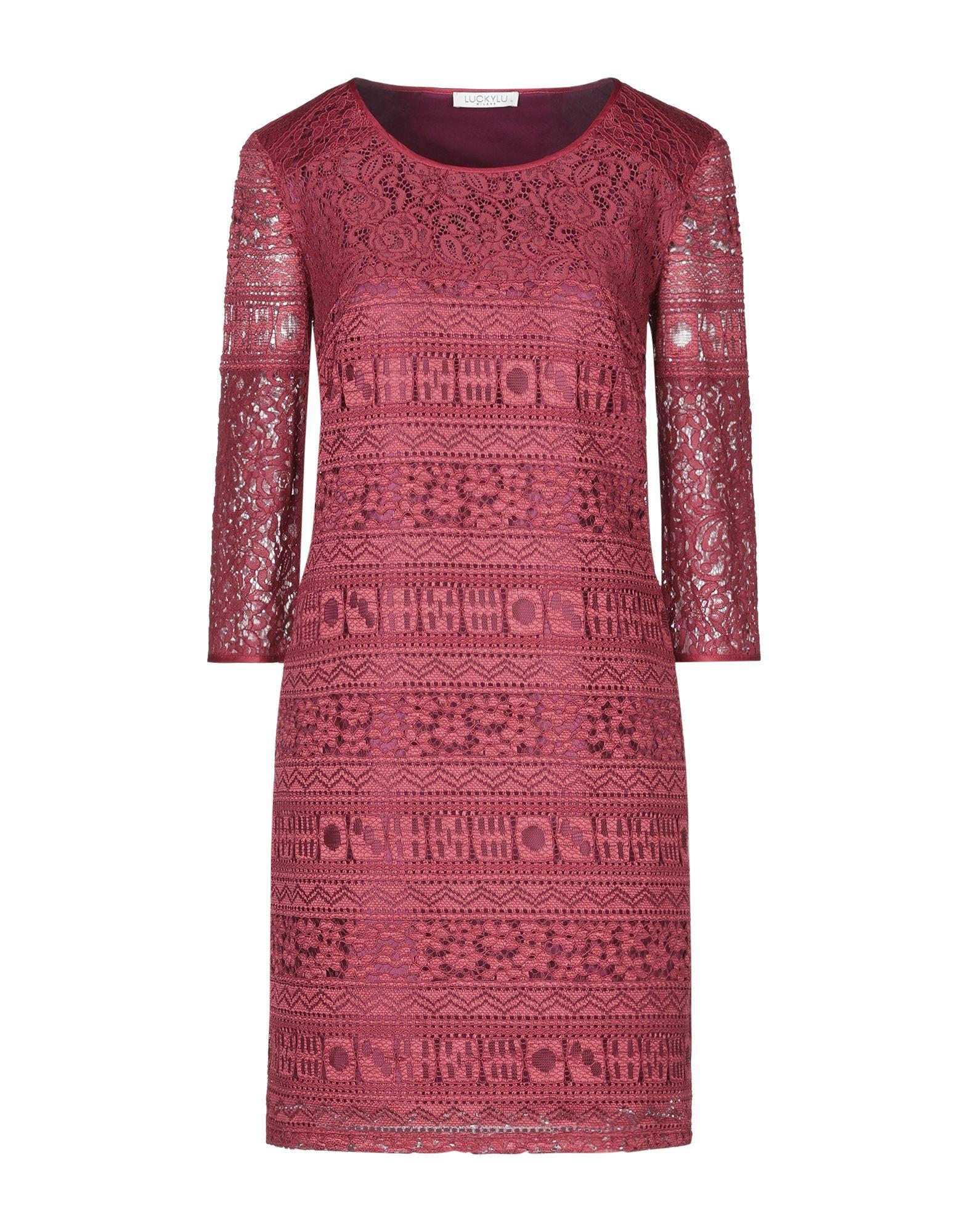 LUCKYLU Milano Короткое платье