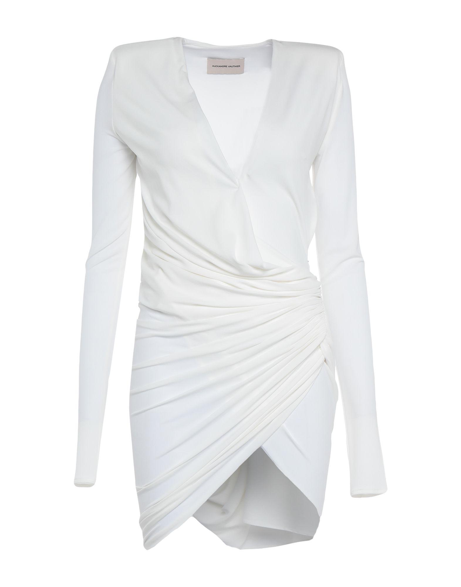 ALEXANDRE VAUTHIER Короткое платье