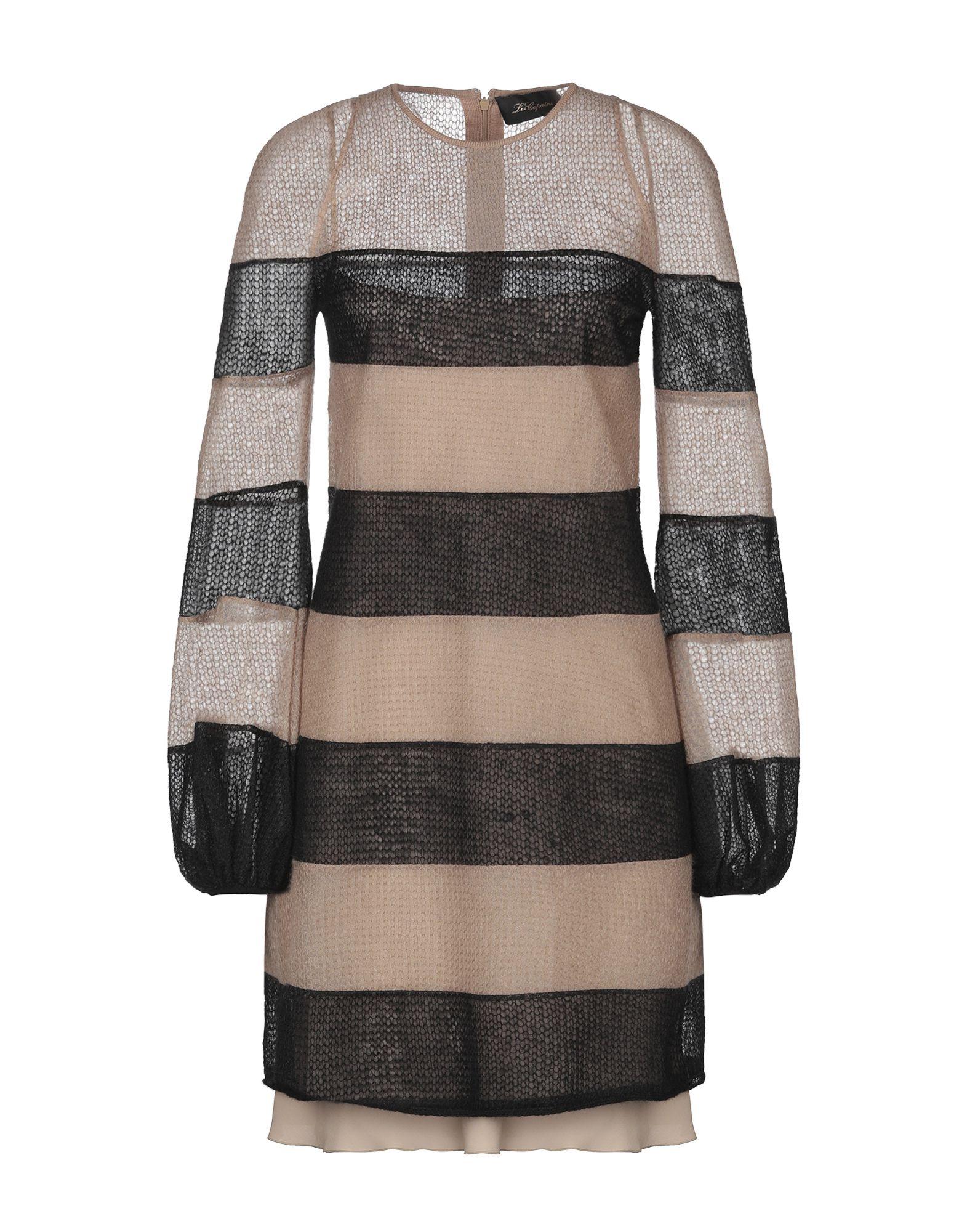 LES COPAINS Короткое платье