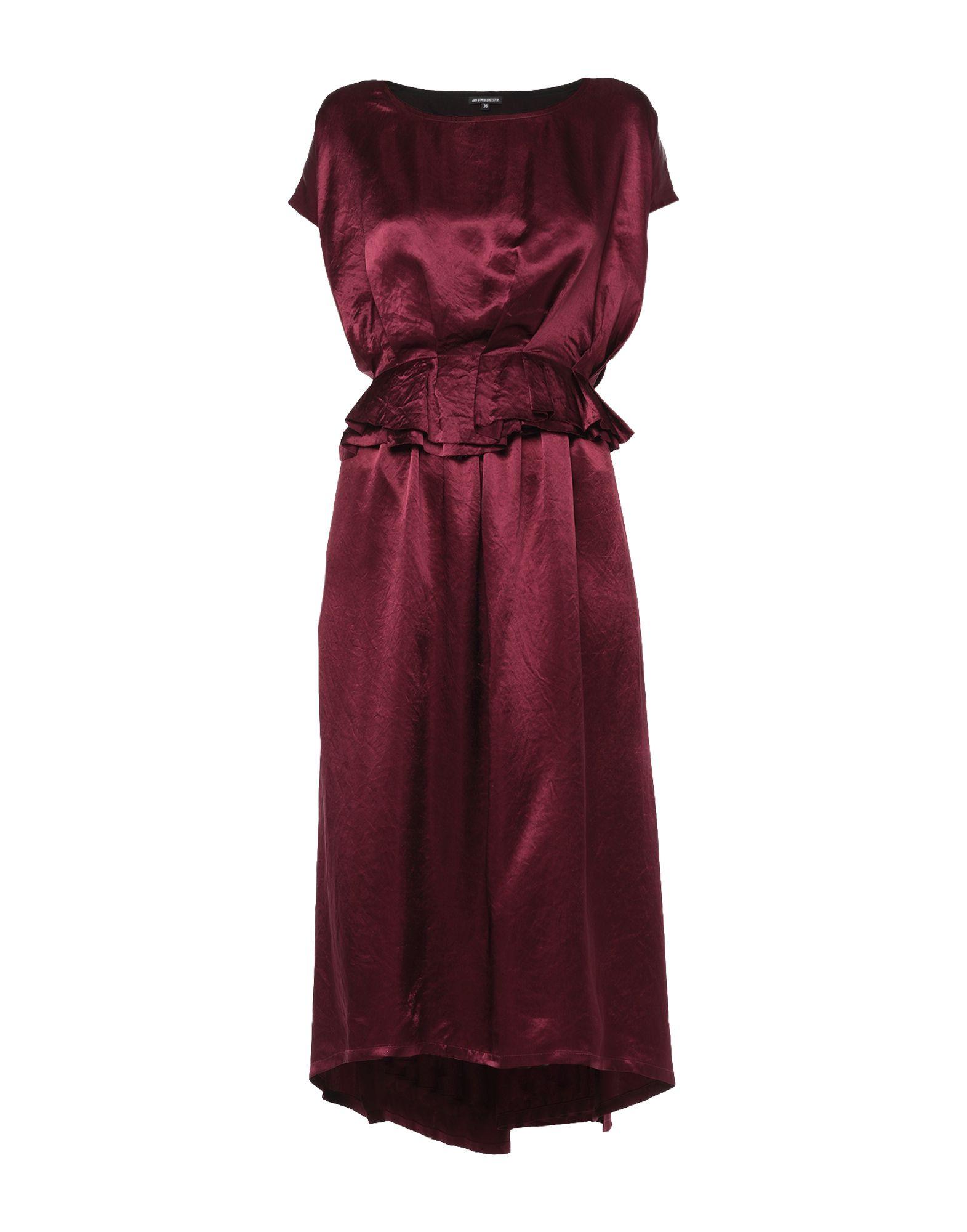 ANN DEMEULEMEESTER Платье длиной 3/4