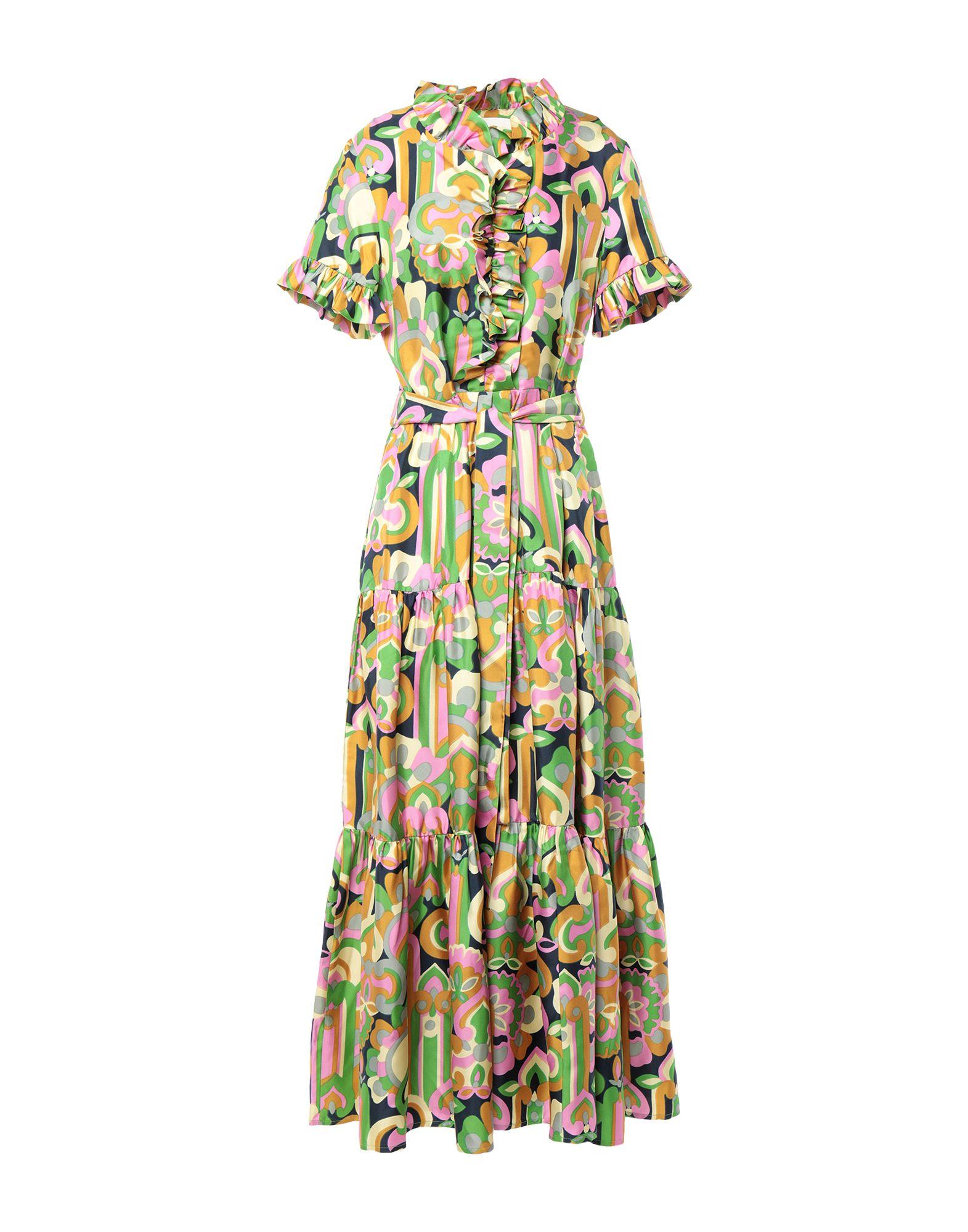 цена LA DOUBLE J. Длинное платье онлайн в 2017 году
