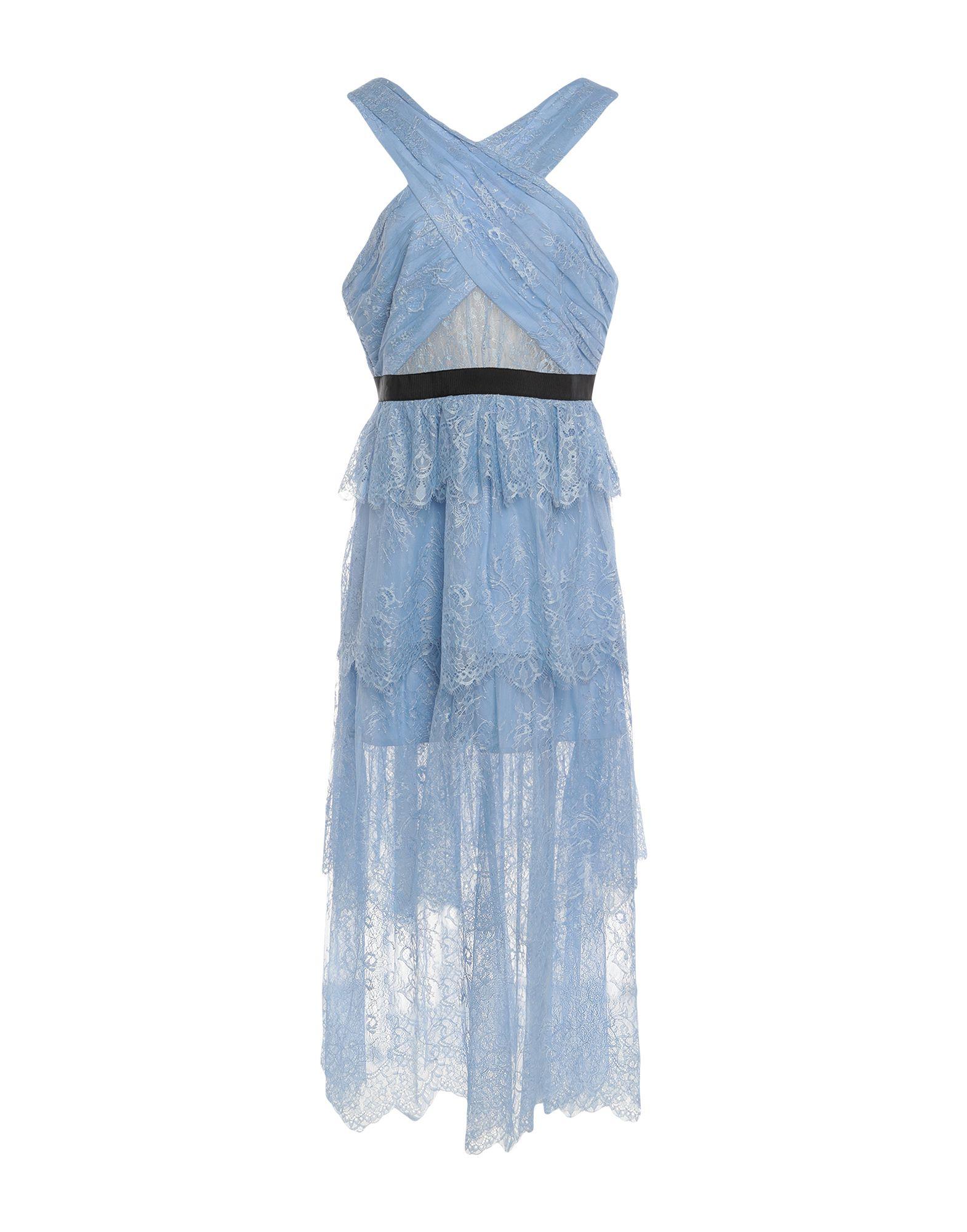 цена на SELF-PORTRAIT Длинное платье