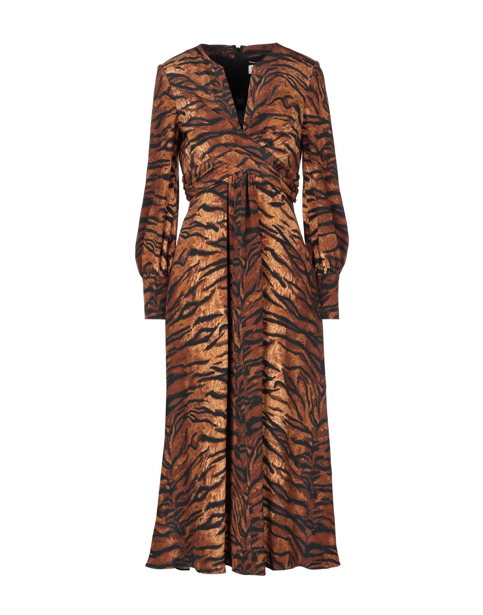 SAINT LAURENT Платье длиной 3/4