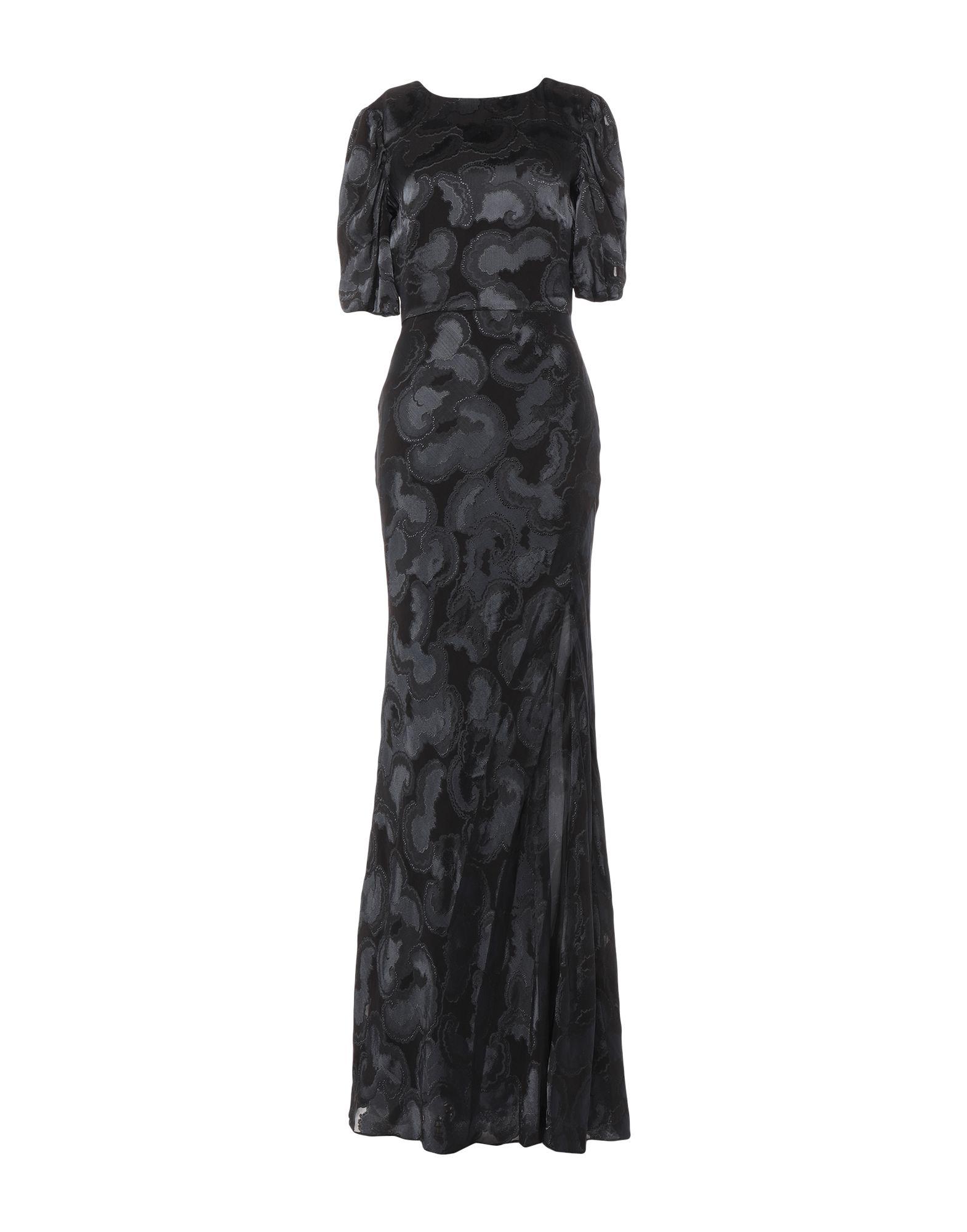 SALONI Длинное платье цена 2017