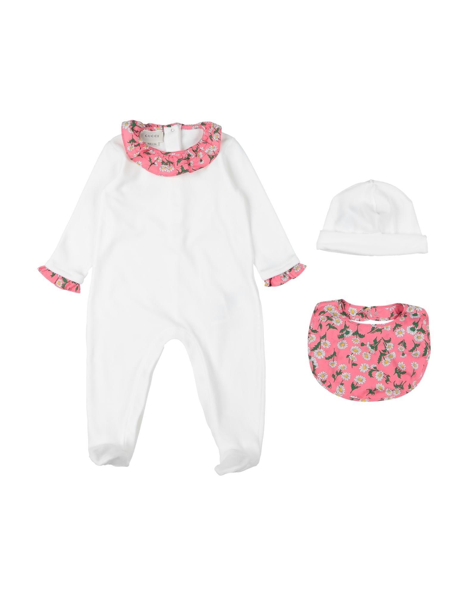 YOOX.COM(ユークス)《セール開催中》GUCCI ガールズ 0-24 ヶ月 乳幼児用ロンパース アイボリー 3 コットン 80% / ナイロン 20%