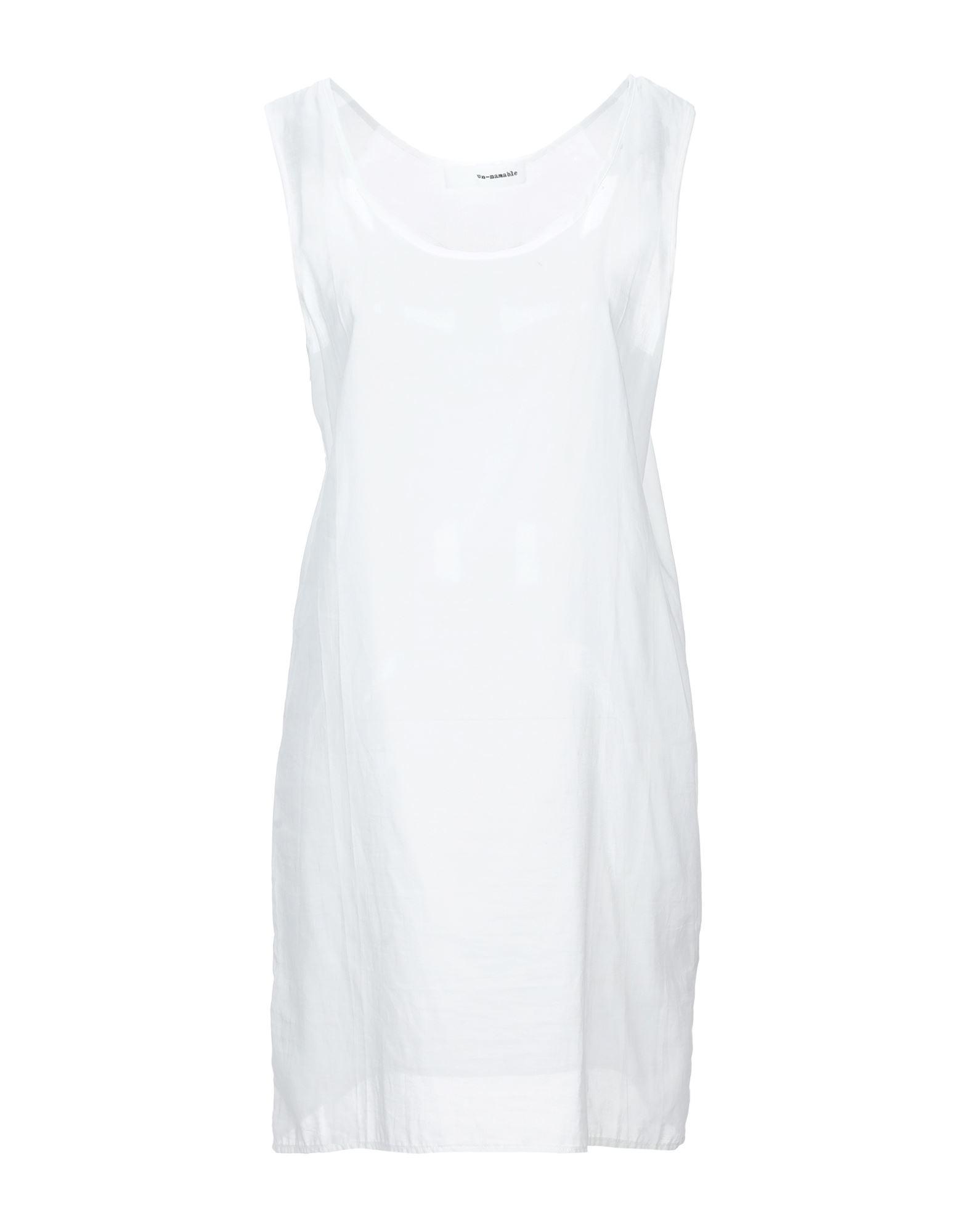 UN-NAMABLE Короткое платье un namable платье до колена