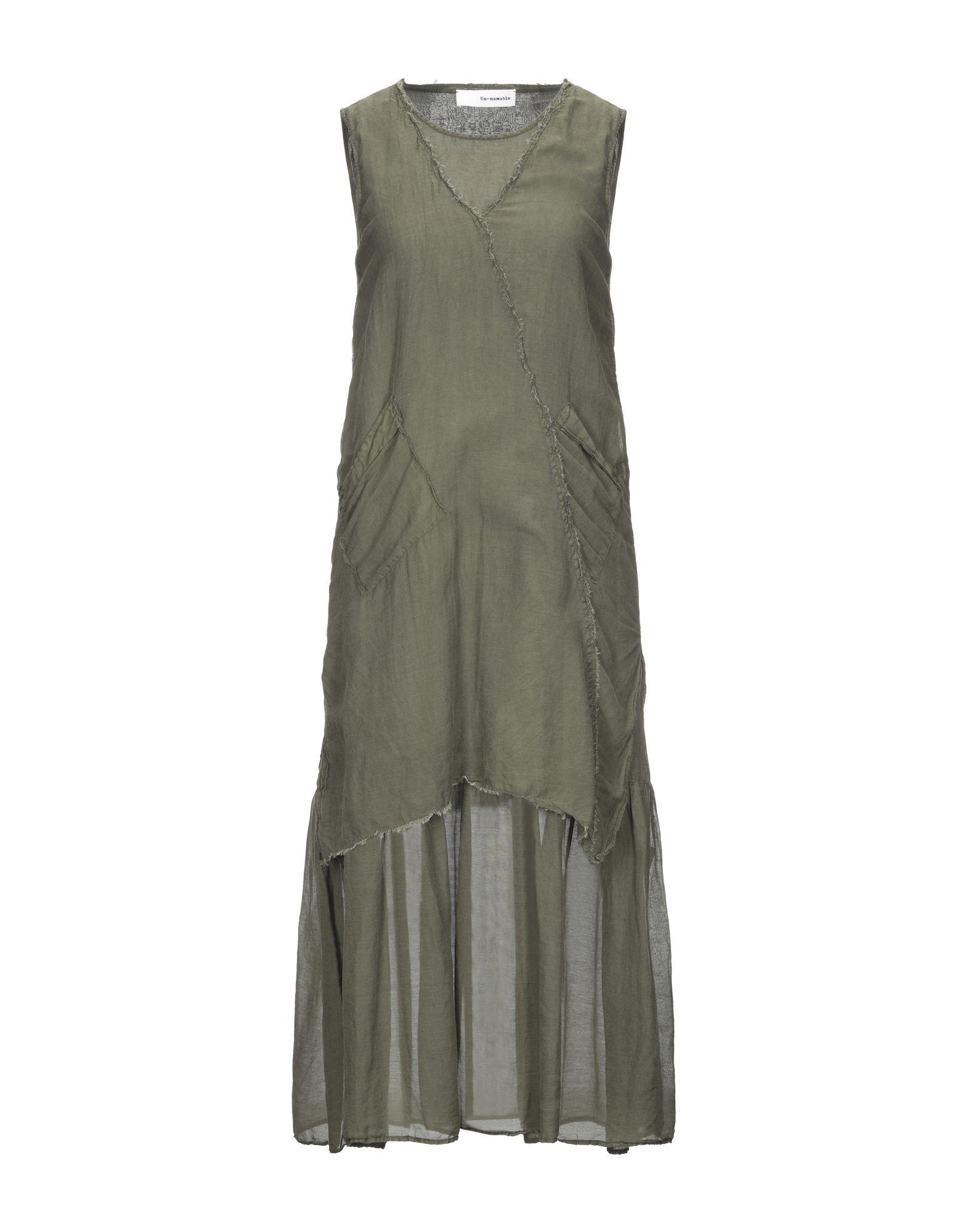UN-NAMABLE Платье до колена un namable платье до колена