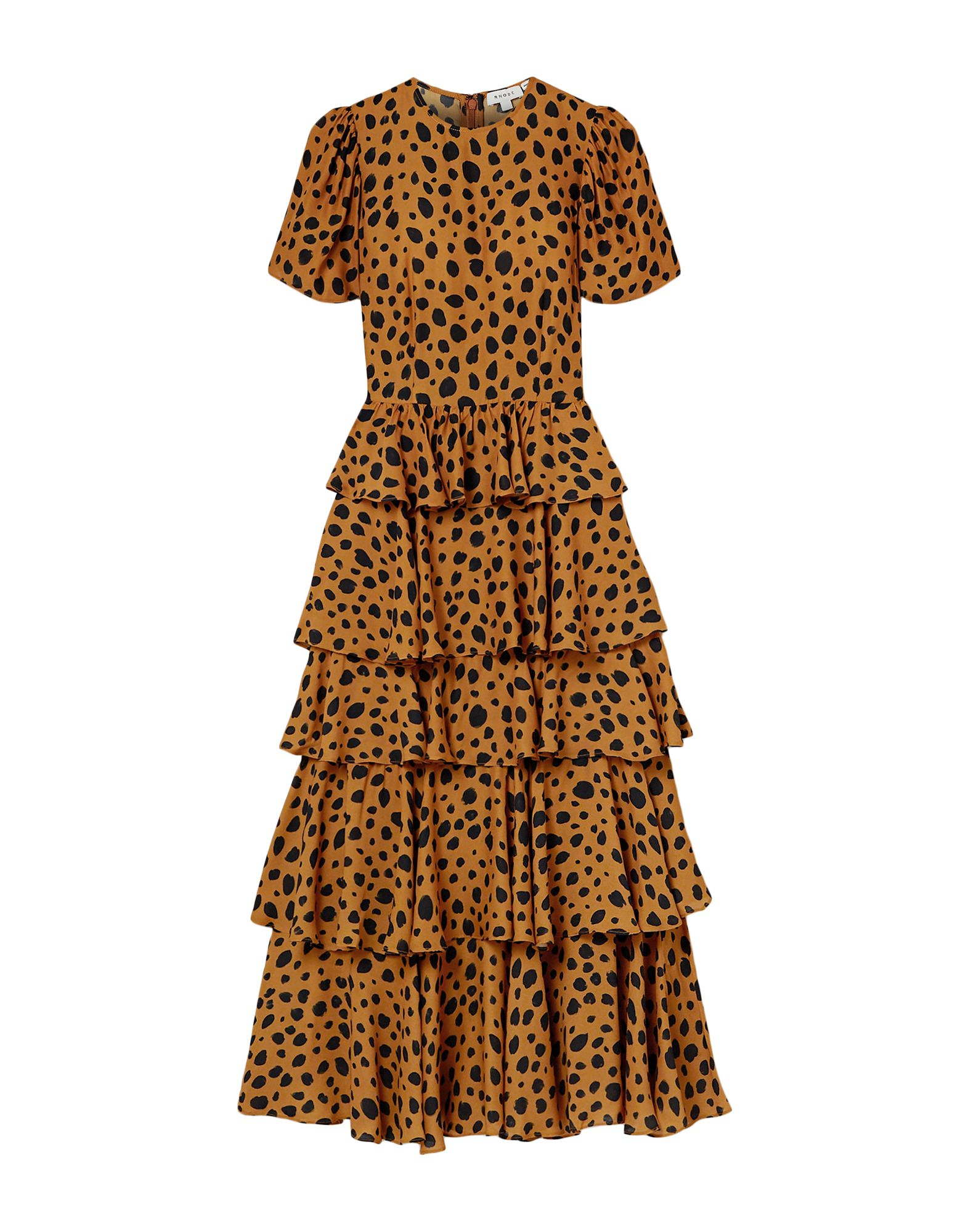 RHODE Длинное платье zhelda длинное платье