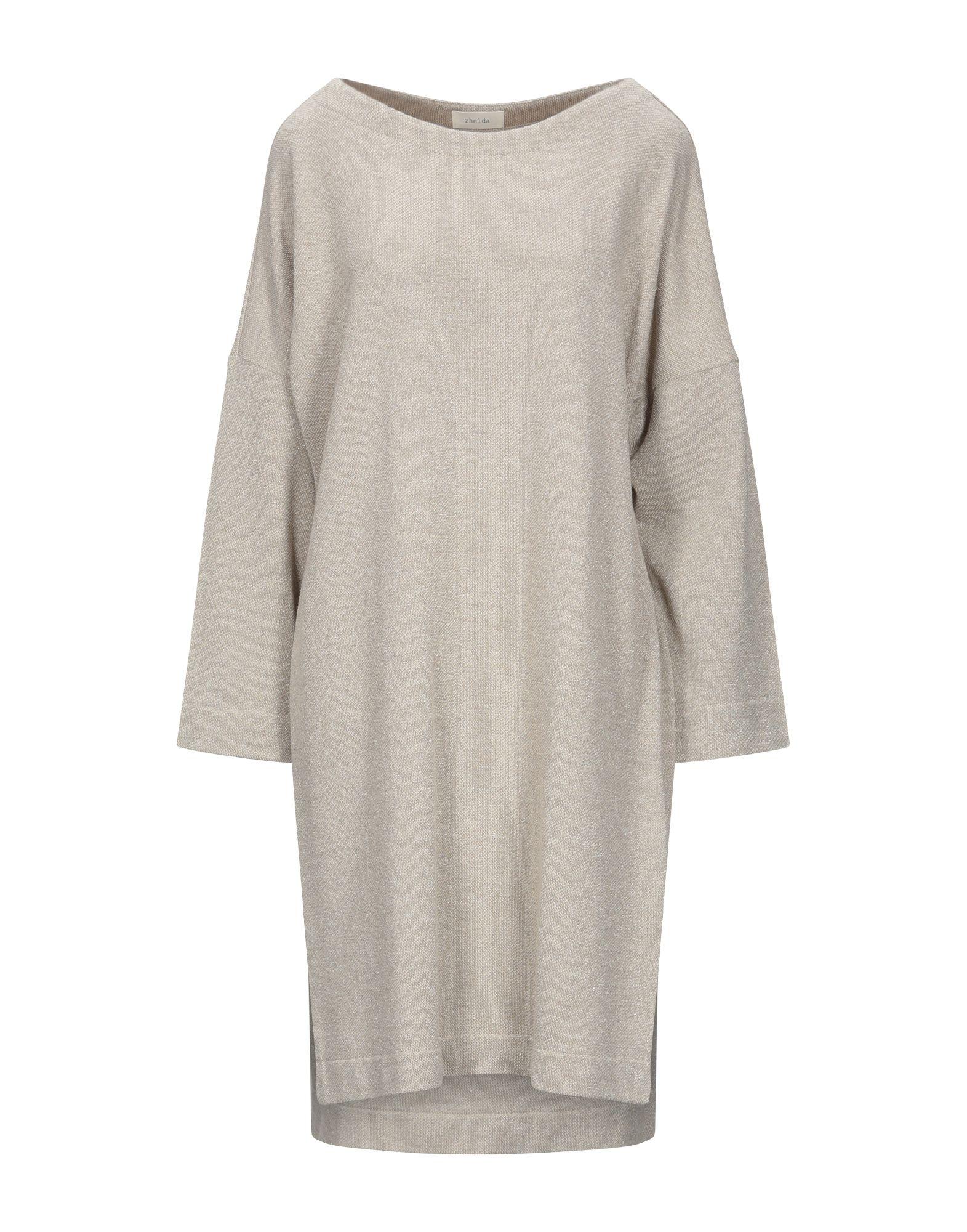ZHELDA Короткое платье zhelda длинное платье