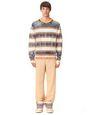 LANVIN Knitwear & Sweaters Man STRIPED KNITTED SWEATER f