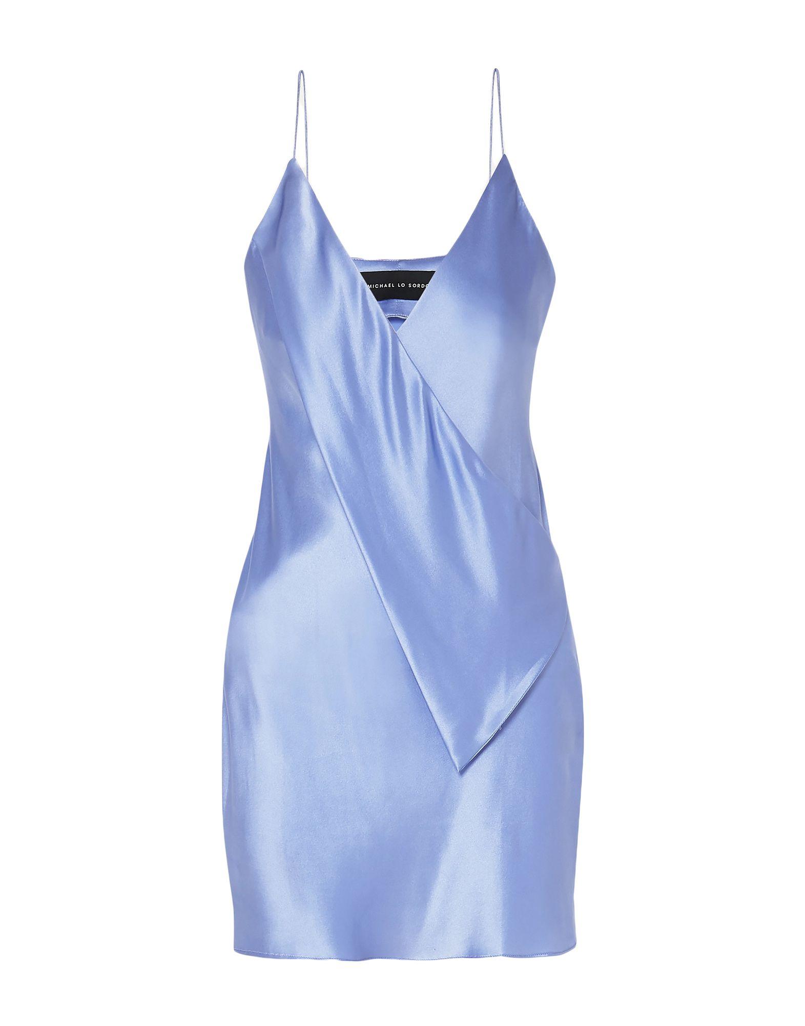 MICHAEL LO SORDO Короткое платье lo lo платье lo lo для беременных коричневый с цветами 42 44