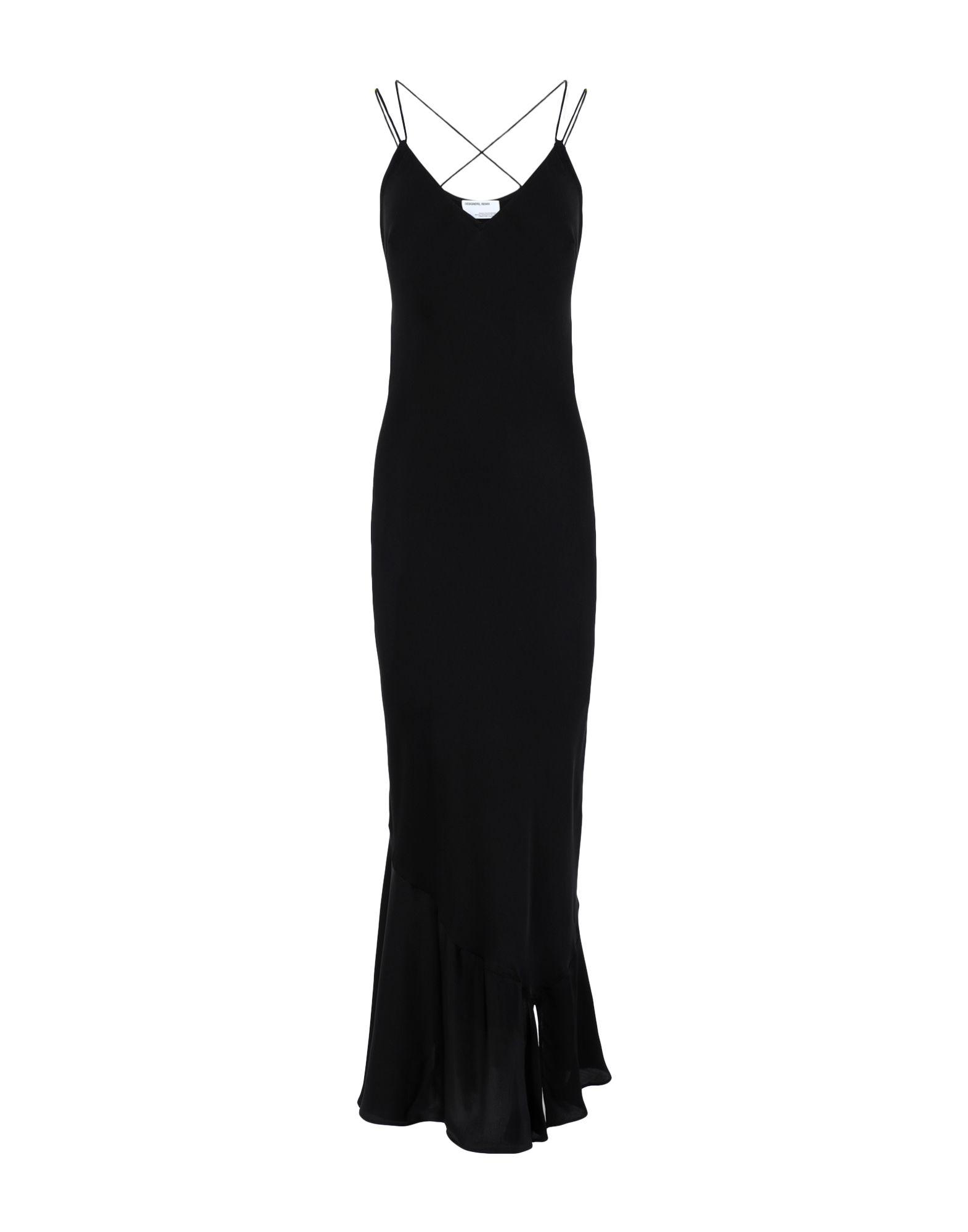 DESIGNERS, REMIX Длинное платье designers remix ремень