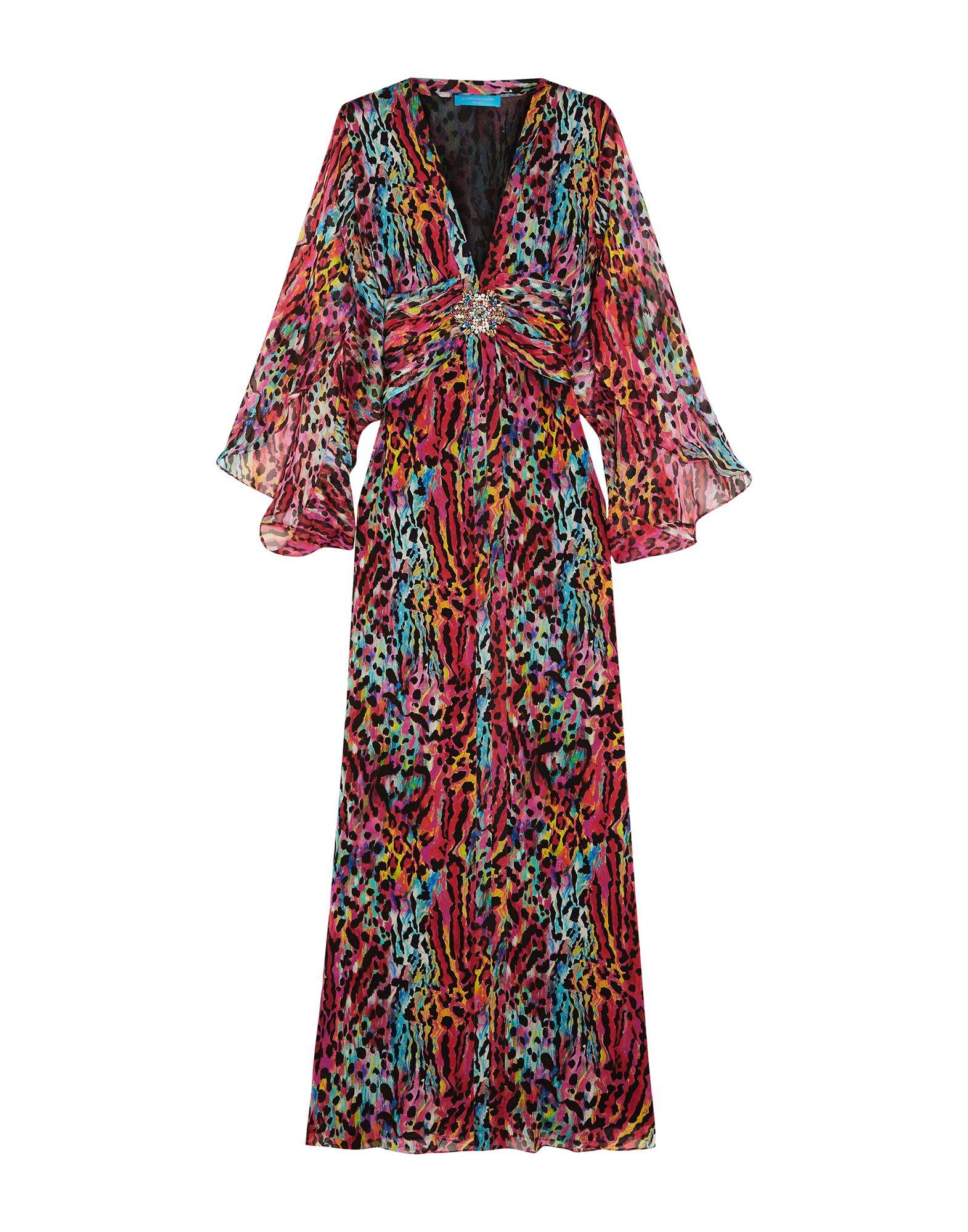 MATTHEW WILLIAMSON Длинное платье matthew williamson юбка длиной 3 4