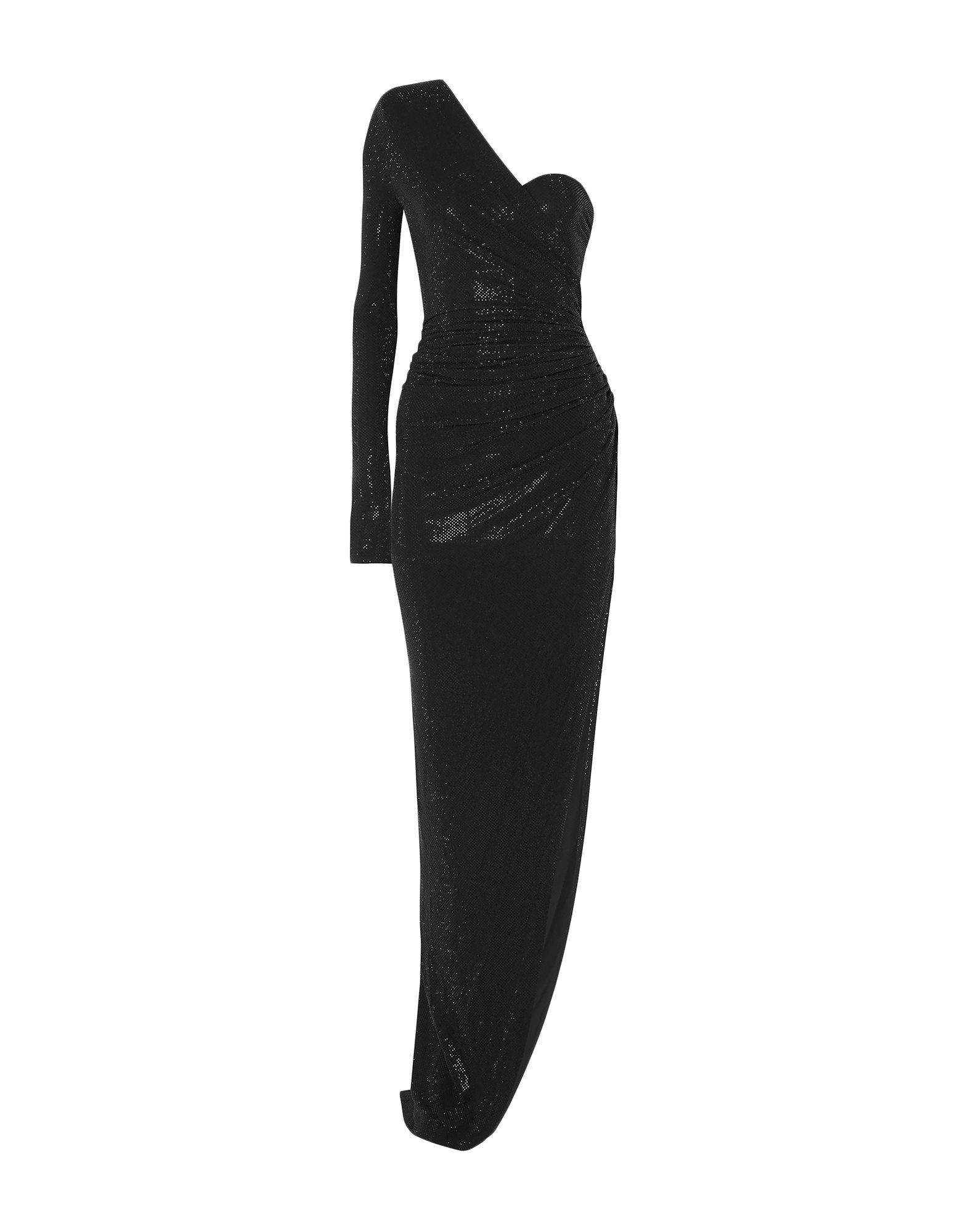 《セール開催中》ALEXANDRE VAUTHIER レディース ミニワンピース&ドレス ブラック 42 レーヨン 92% / ポリウレタン 8% / ガラス