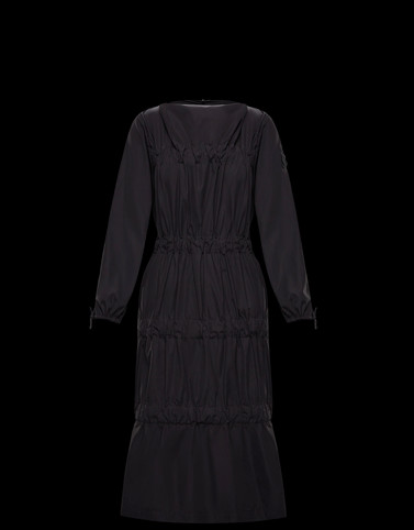 DRESS Black 1 Moncler JW Anderson Woman