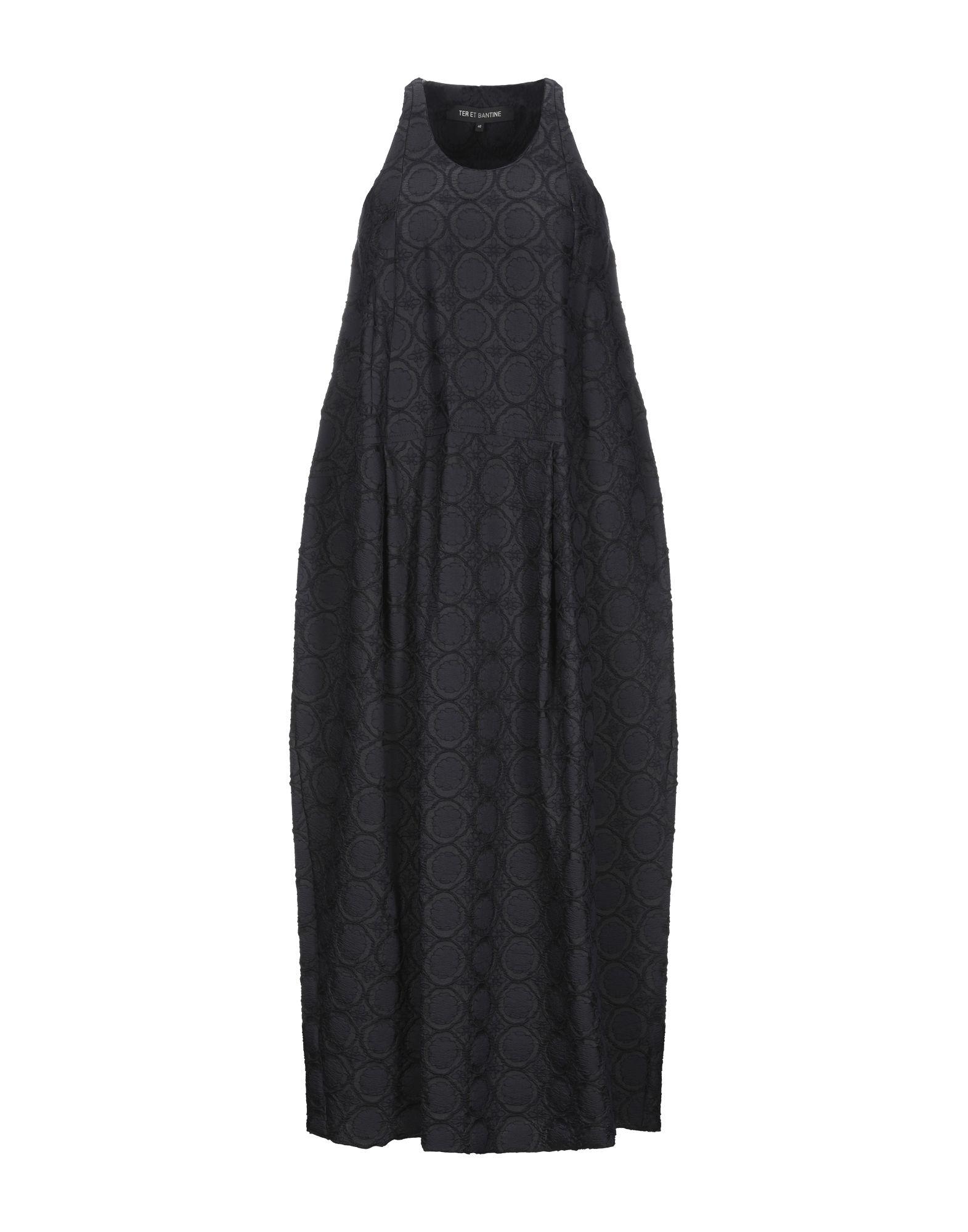 TER ET BANTINE Длинное платье ter et bantine пиджак