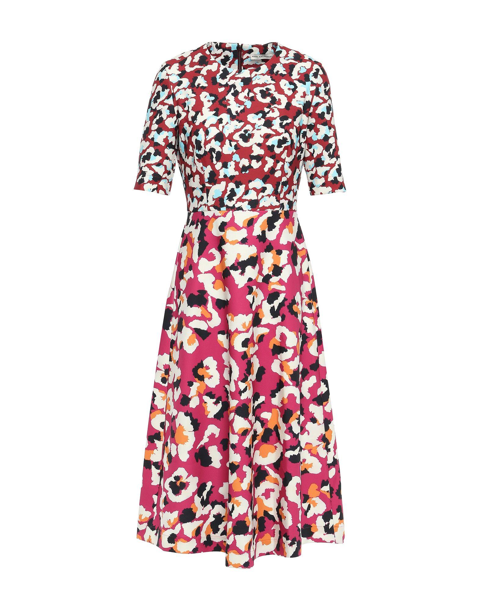 MARY KATRANTZOU Платье длиной 3/4 mary katrantzou платье длиной 3 4