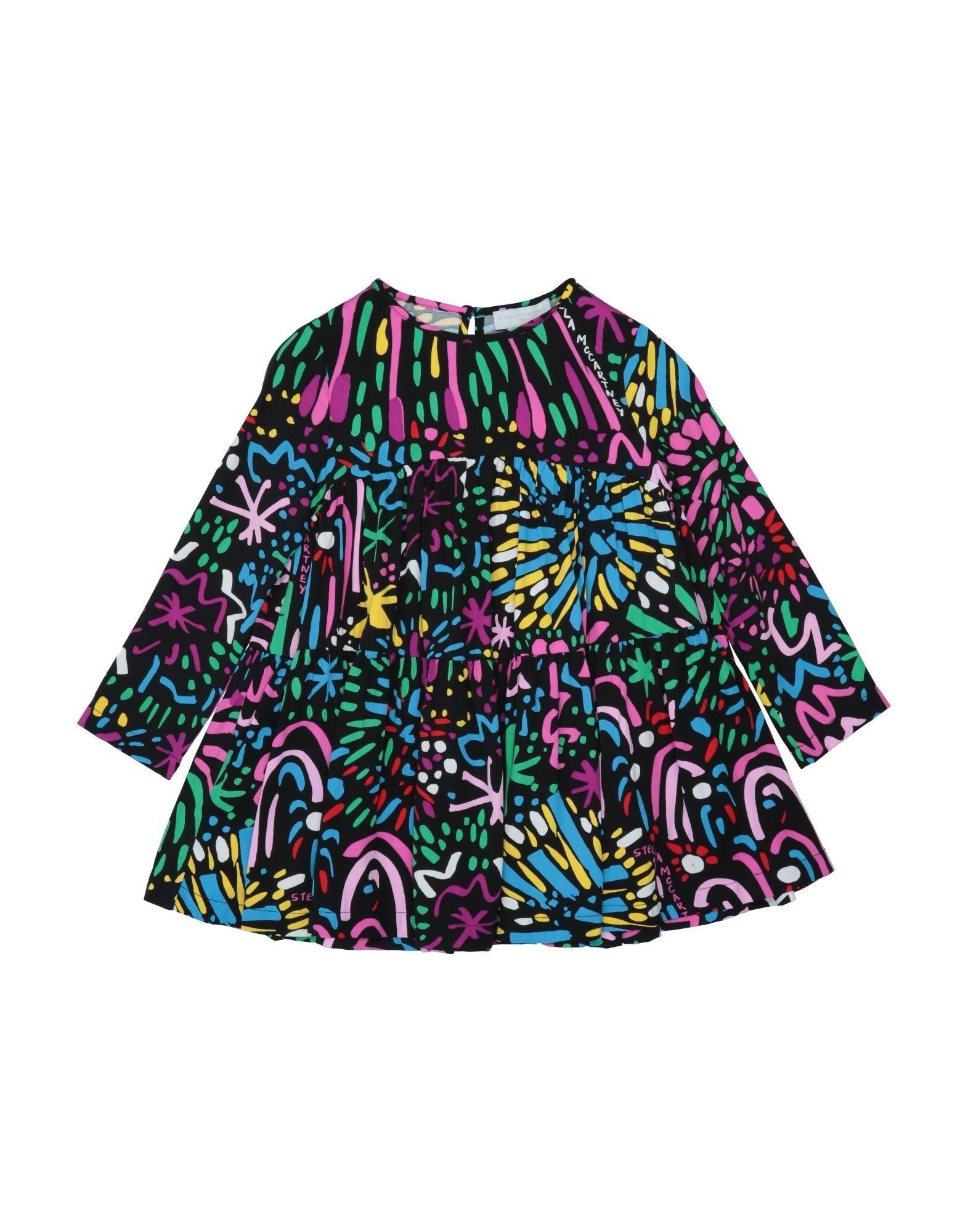 《セール開催中》STELLA McCARTNEY KIDS ガールズ 9-16 歳 ワンピース&ドレス ブラック 12 レーヨン 100%