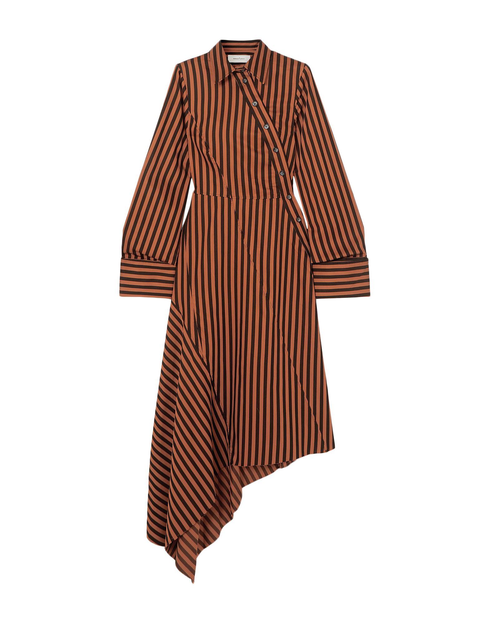 MARQUES' ALMEIDA Платье до колена marques almeida корсет из денима