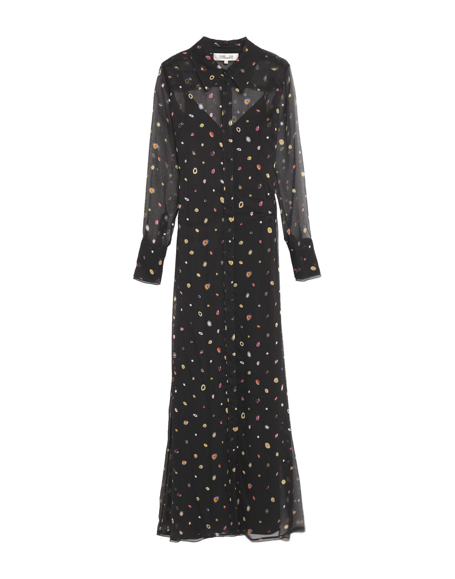 DIANE VON FURSTENBERG Длинное платье кимоно diane von furstenberg diane von furstenberg di001ewghwy4