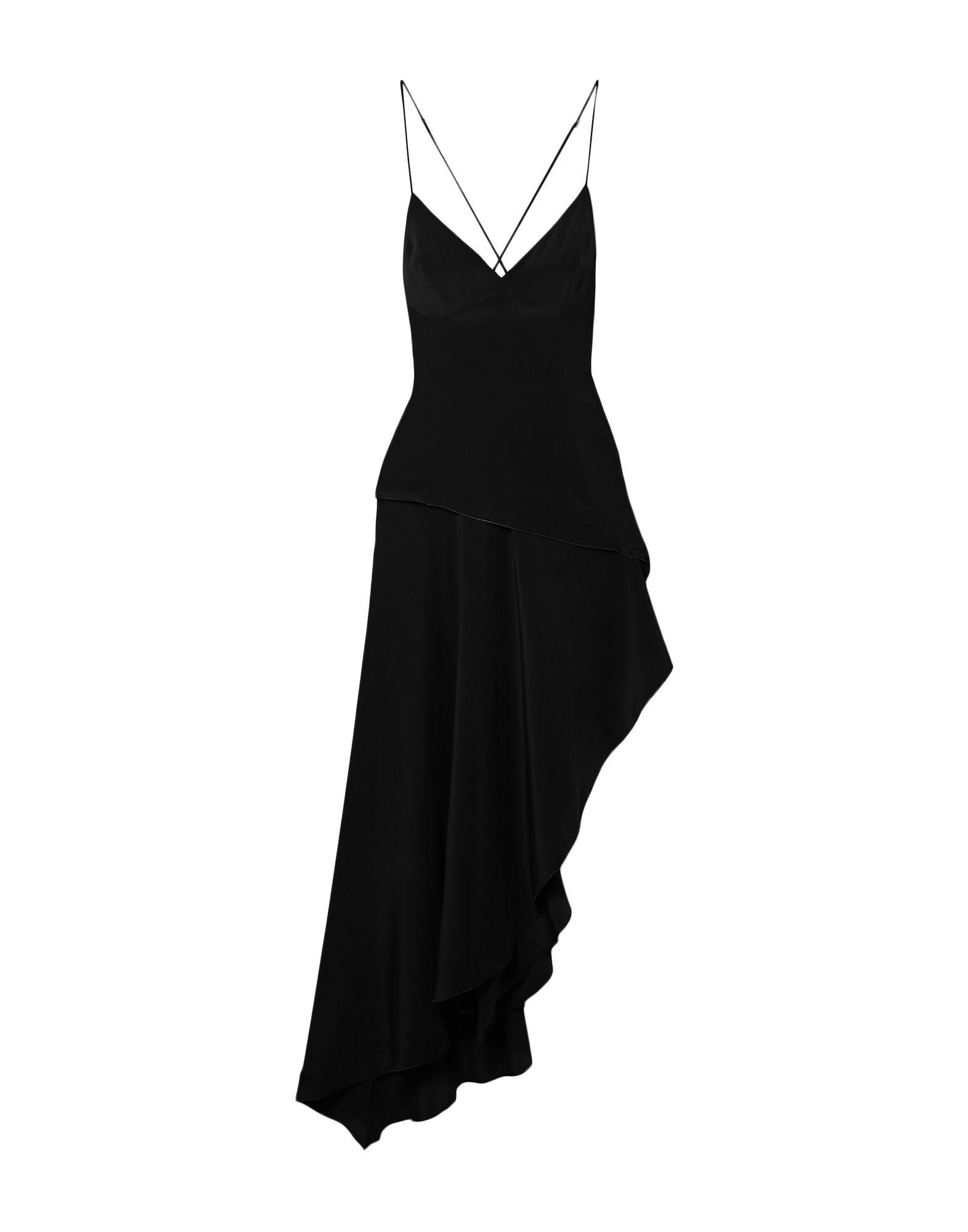 《セール開催中》AMIRI レディース ミニワンピース&ドレス ブラック 40 シルク 100%