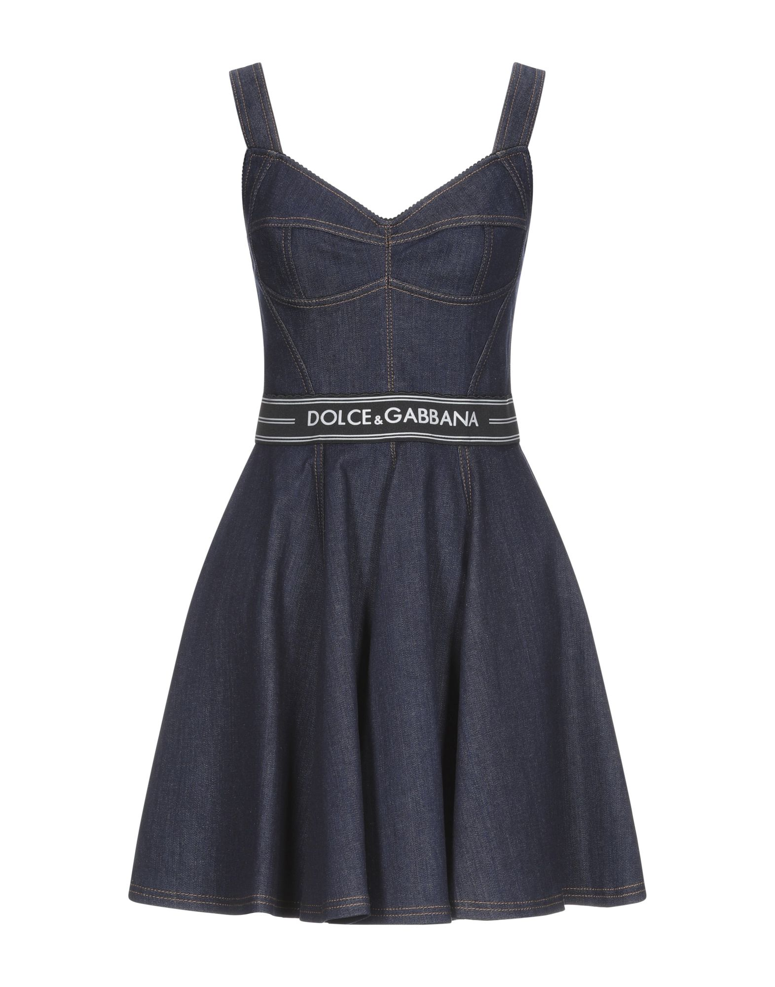 DOLCE & GABBANA Короткое платье женское платье dolce
