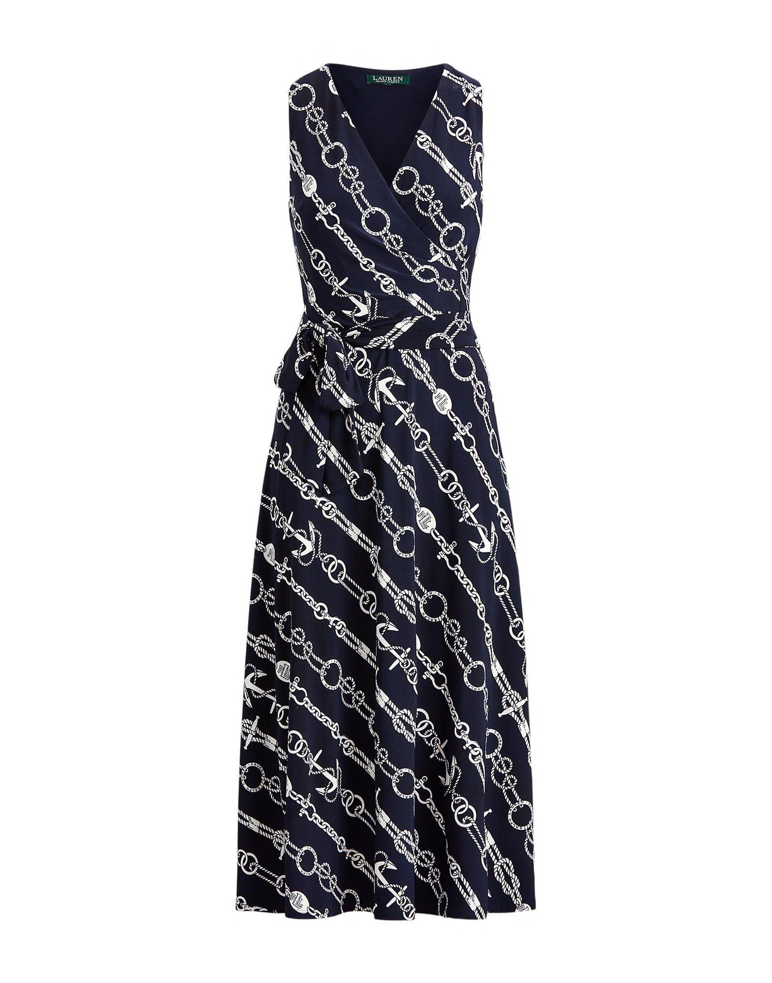 LAUREN RALPH LAUREN Платье длиной 3/4 lauren ralph lauren new black colorblock sleeveless dress 4 $124 dbfl page 4