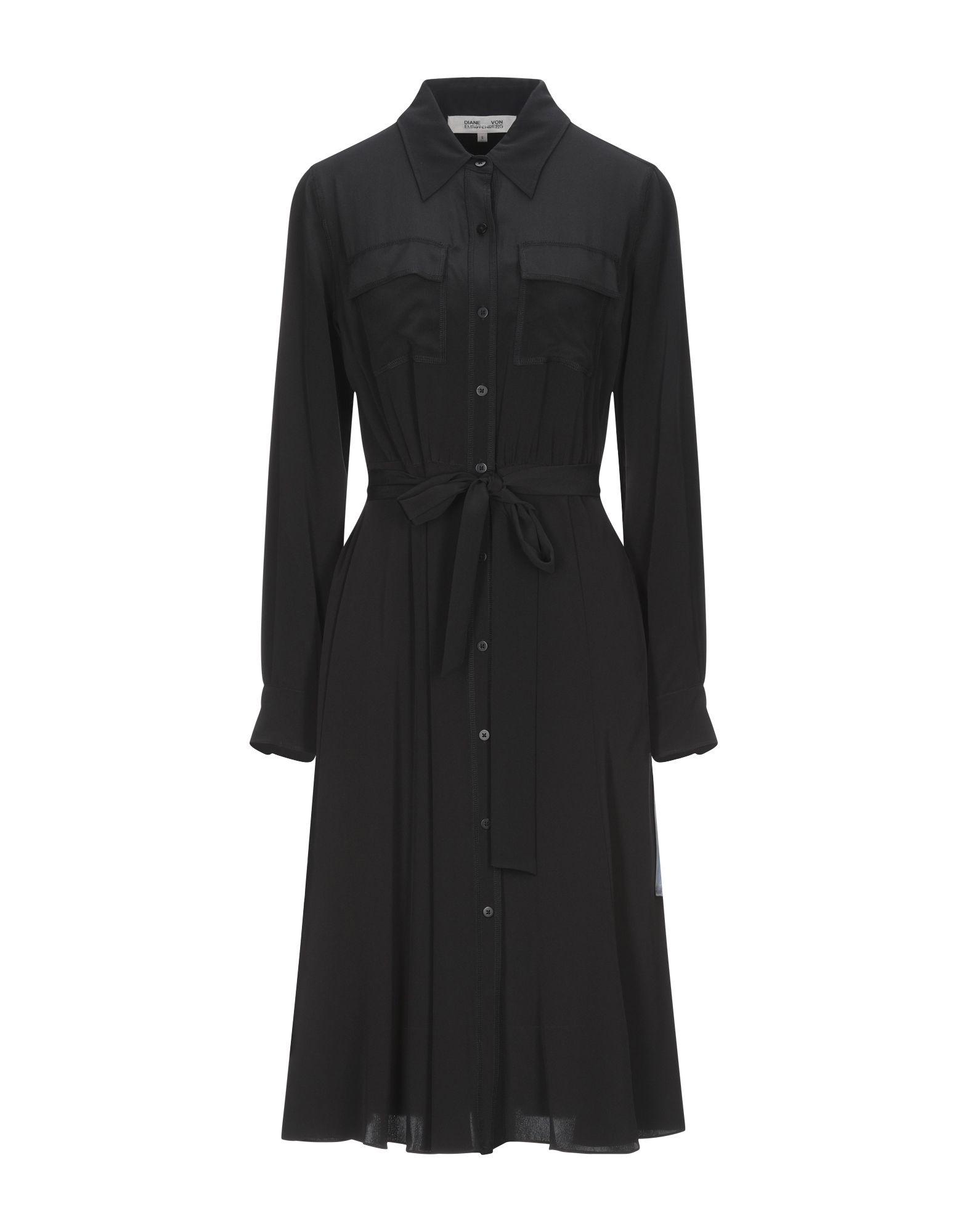 DIANE VON FURSTENBERG Платье до колена кимоно diane von furstenberg diane von furstenberg di001ewghwy4