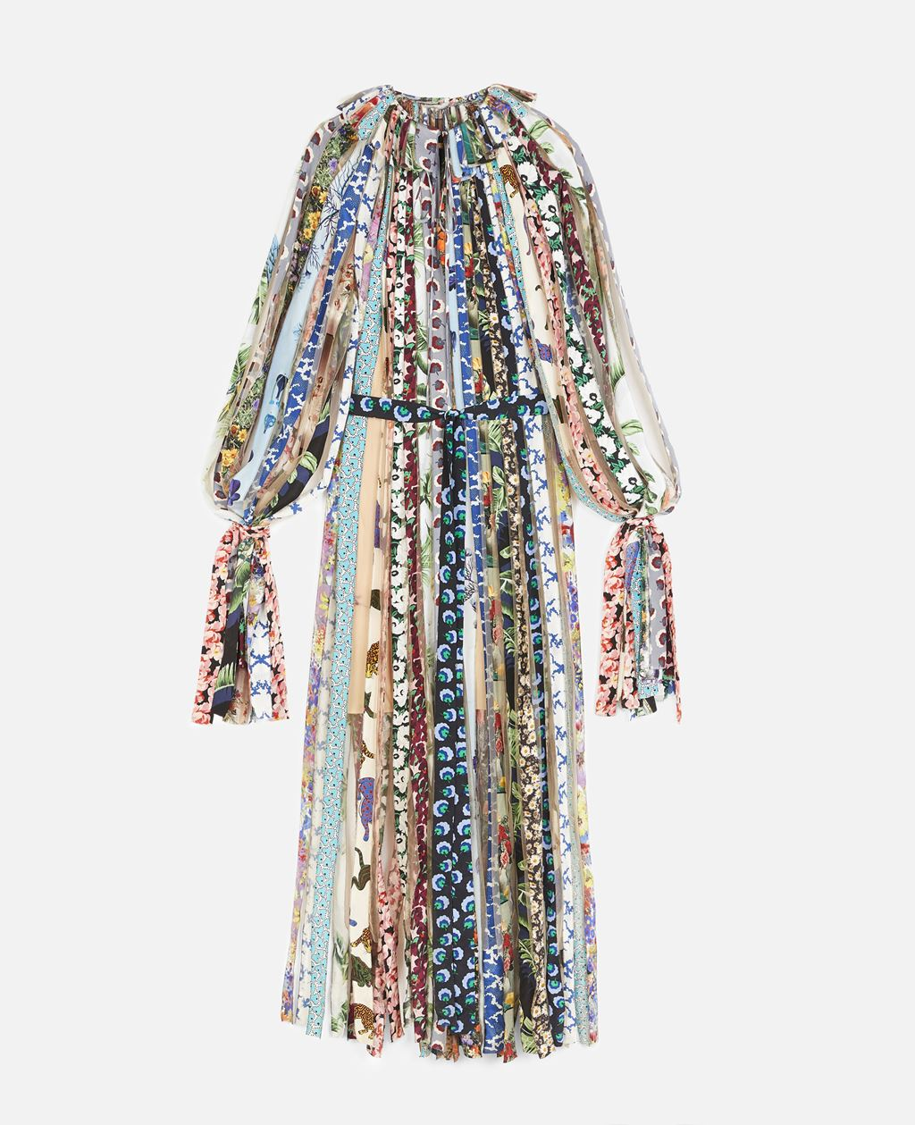 Stella Mccartney Silks STELLA MCCARTNEY MULTICOLOUR GABRIELA MAXI DRESS