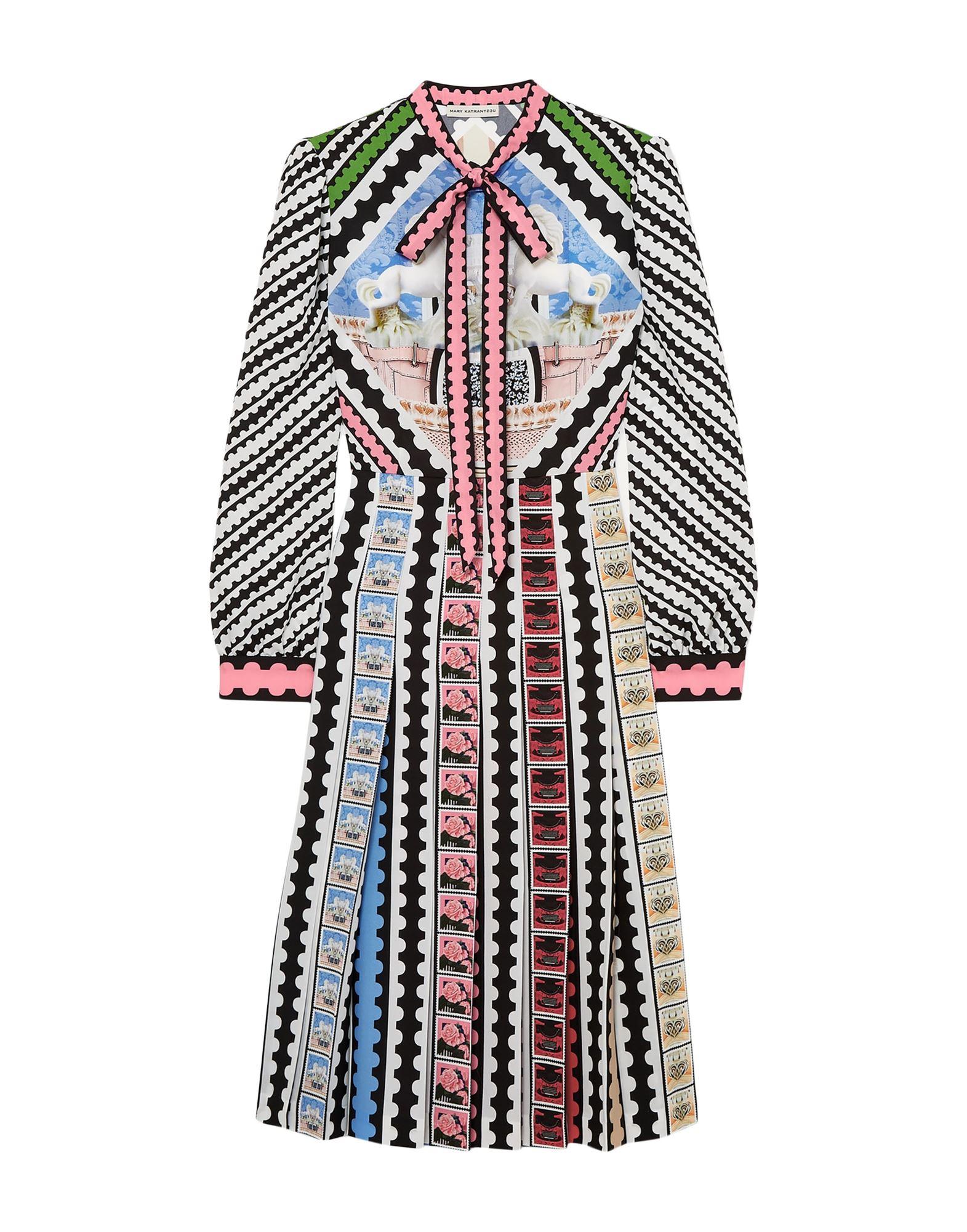MARY KATRANTZOU Платье до колена недорого