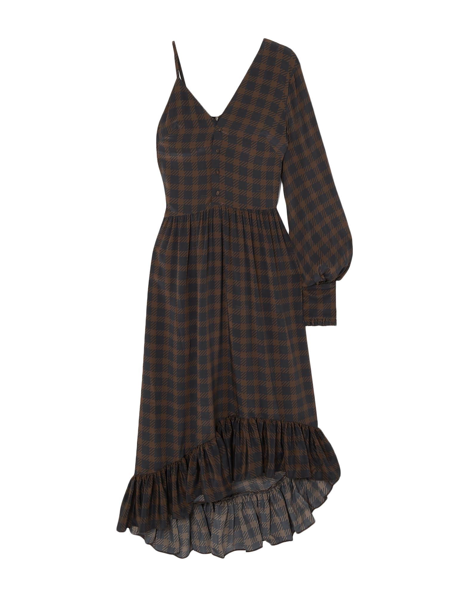 ROKH Длинное платье rokh топ без рукавов