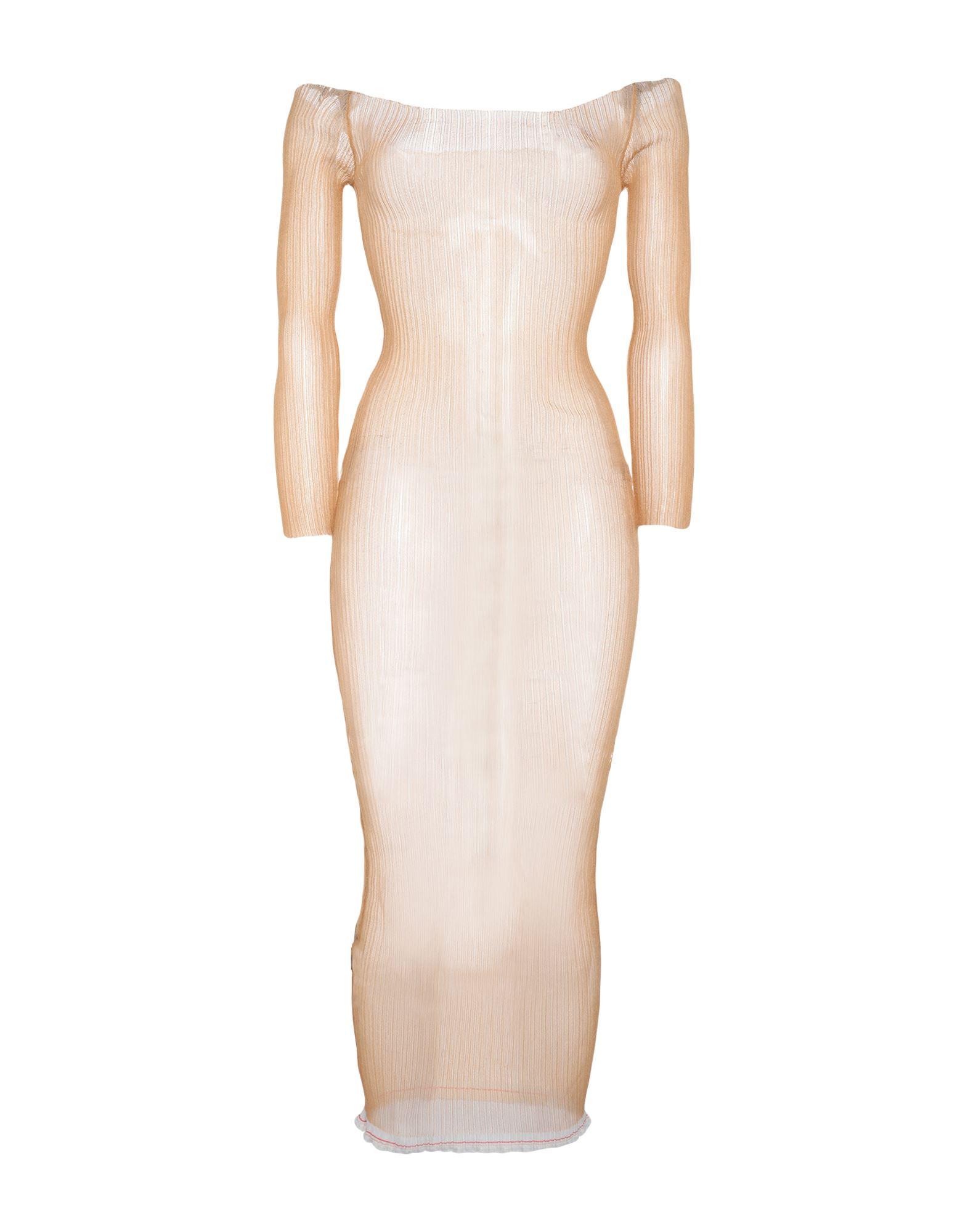 JACQUEMUS Платье длиной 3/4 jacquemus короткое платье