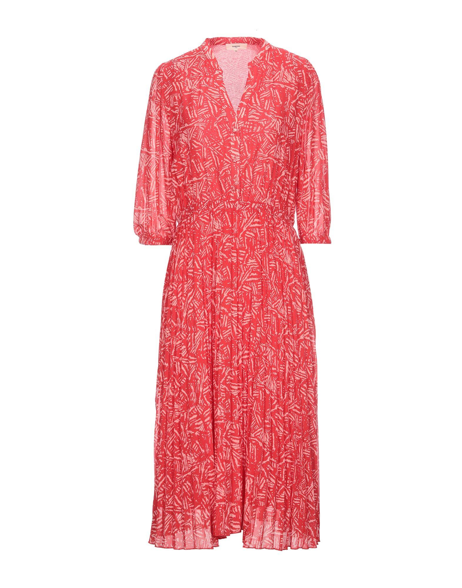 SUNCOO Платье длиной 3/4 vionnet платье длиной 3 4
