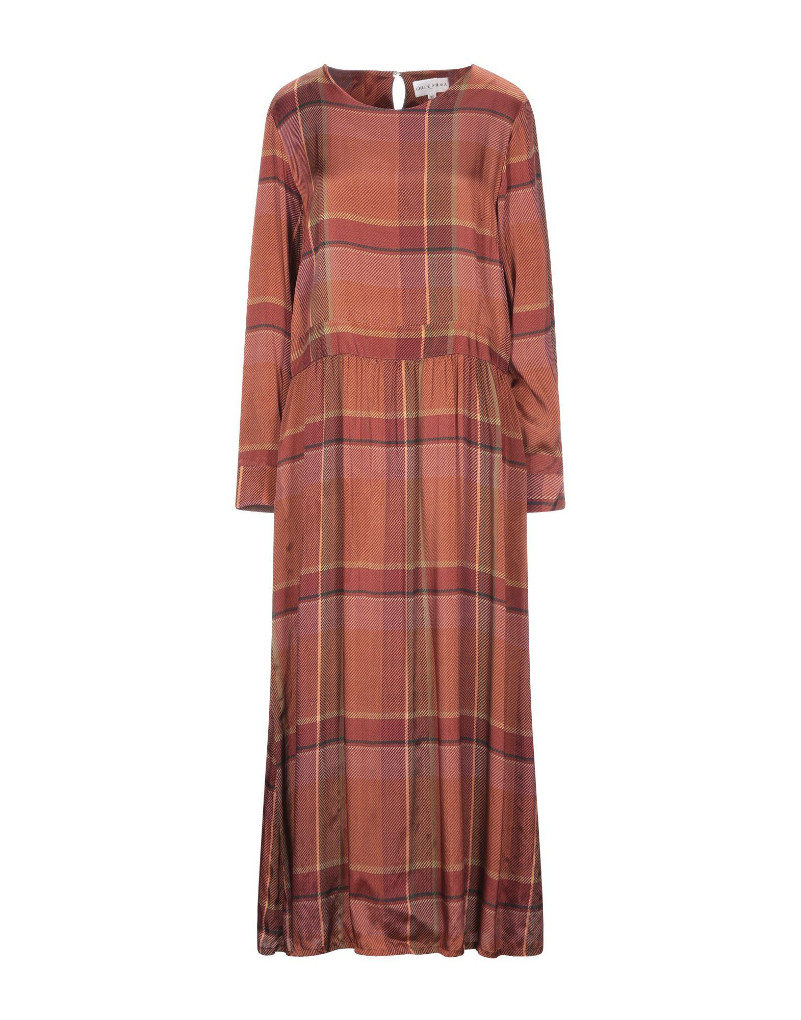 CHLOÉ STORA Длинное платье chloé длинное платье