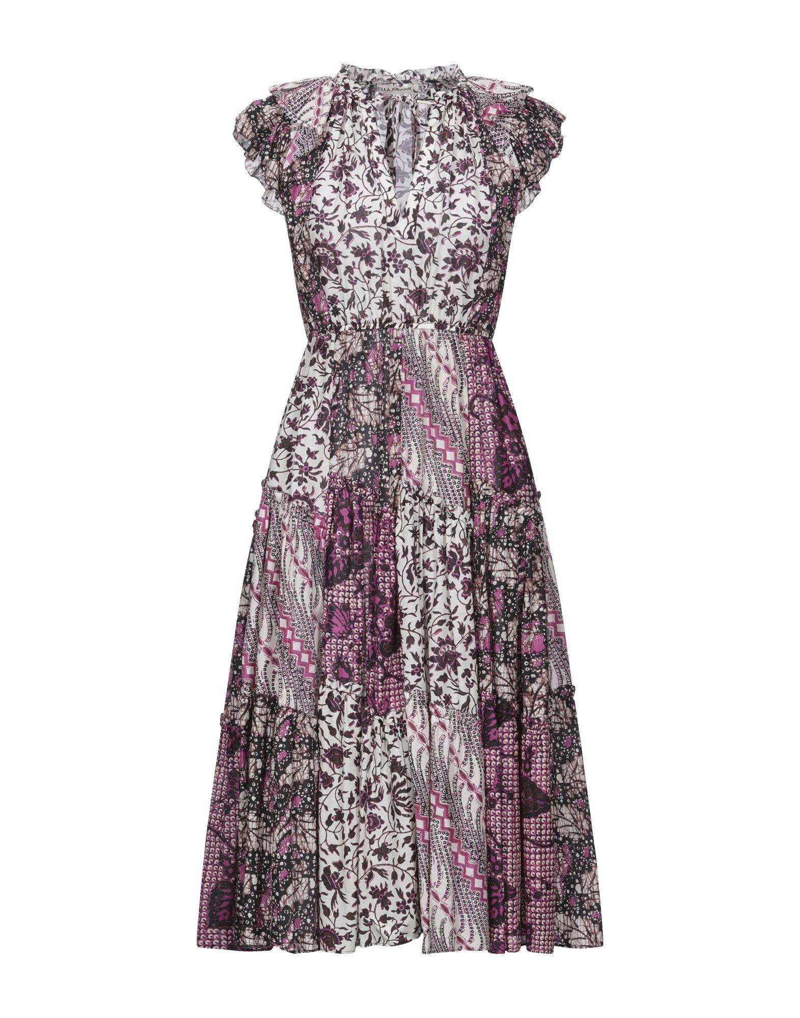 Фото - ULLA JOHNSON Платье длиной 3/4 ulla johnson платье до колена