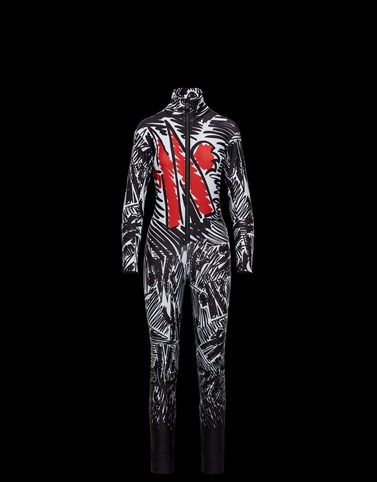 SKI SUIT Black Grenoble Ski Suits Woman