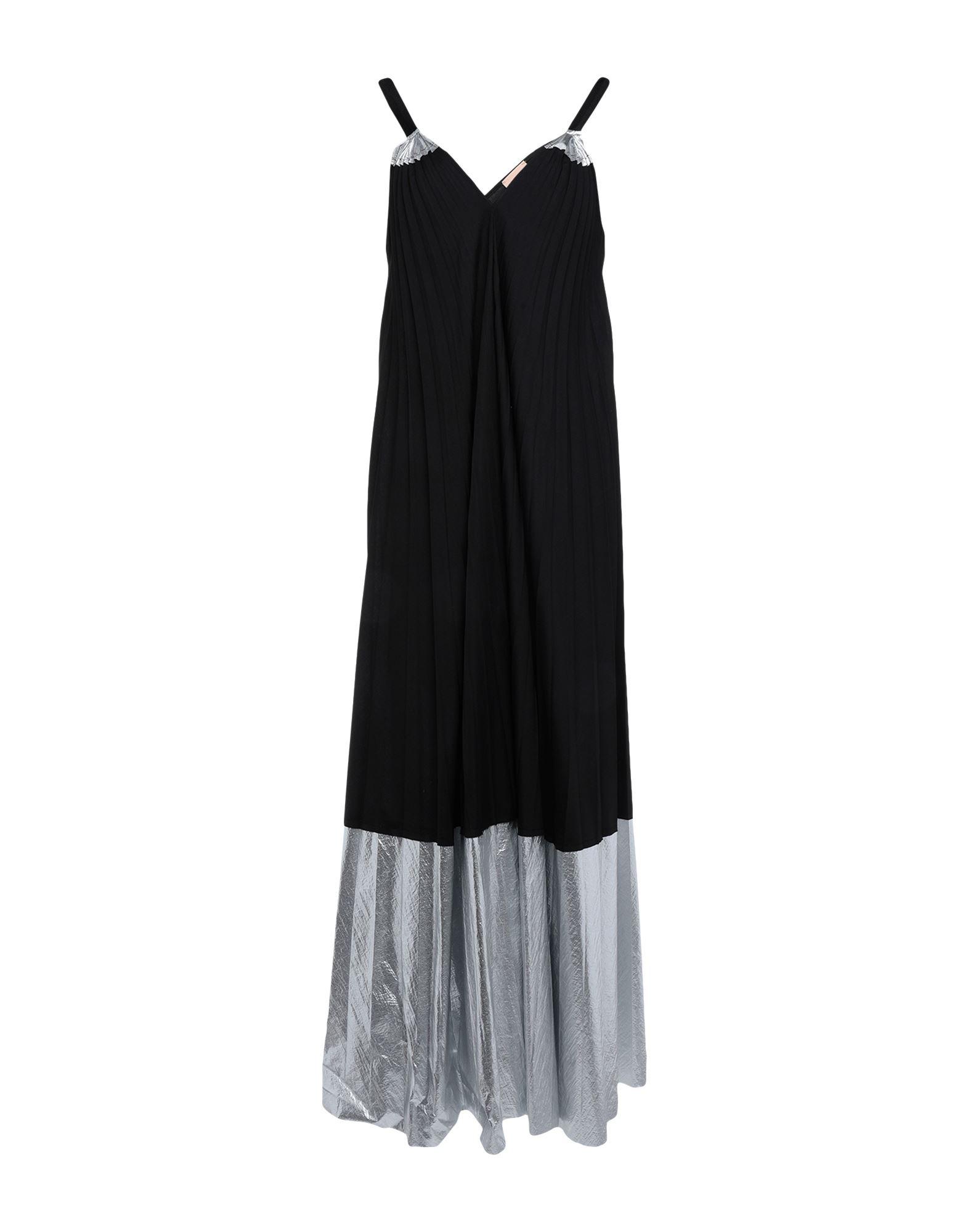 NUDE Длинное платье фото