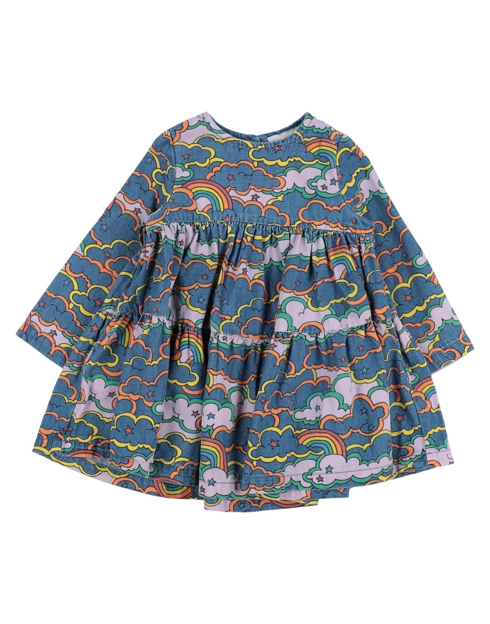 《セール開催中》STELLA McCARTNEY KIDS ガールズ 9-16 歳 ワンピース&ドレス ブルー 10 コットン 100%