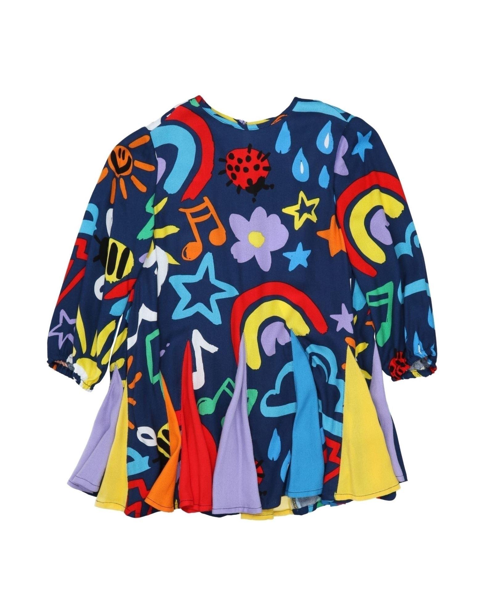 《セール開催中》STELLA McCARTNEY KIDS ガールズ 9-16 歳 ワンピース&ドレス ブルー 10 レーヨン 100%