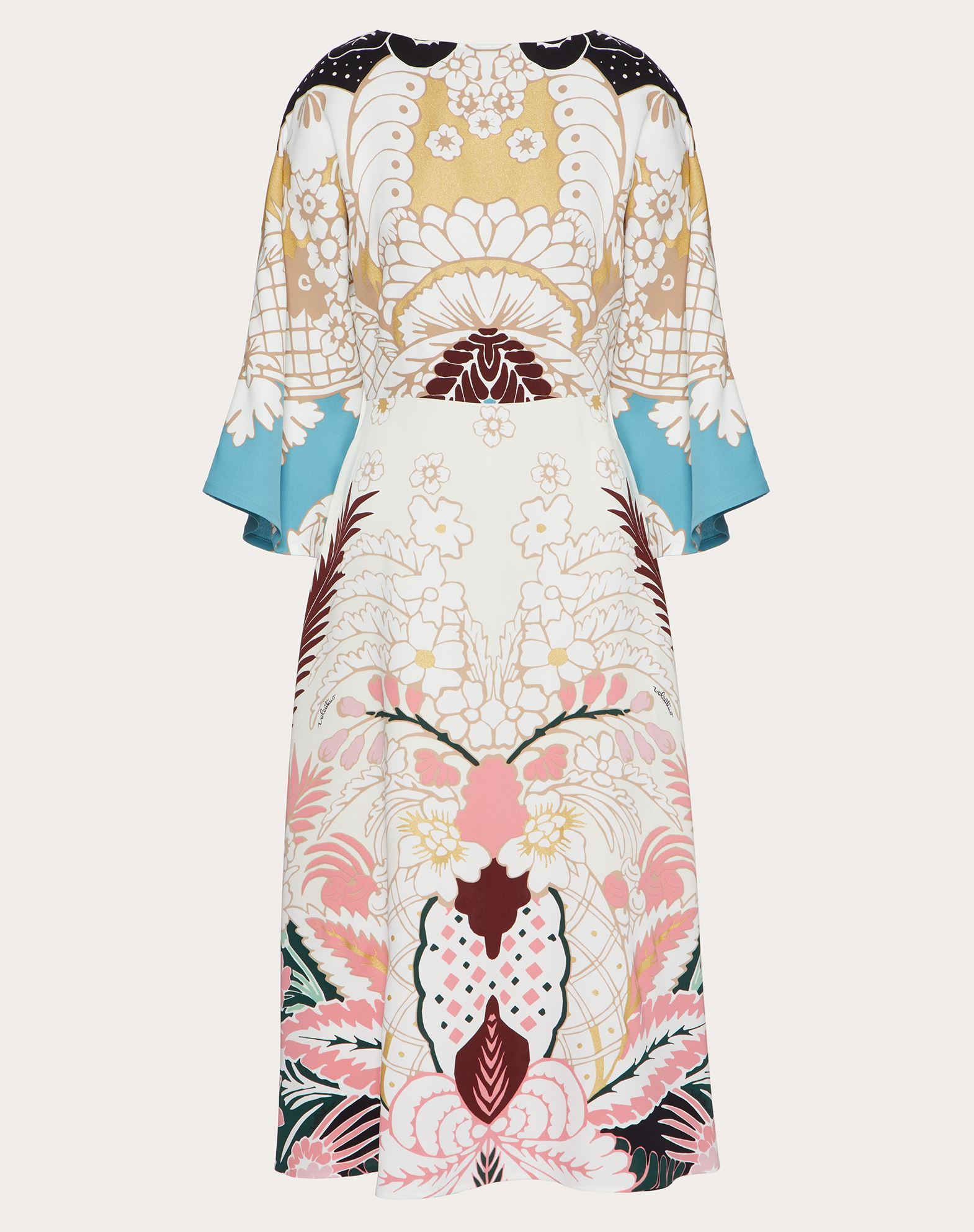 Valentino VALENTINO PRINTED CADY DRESS
