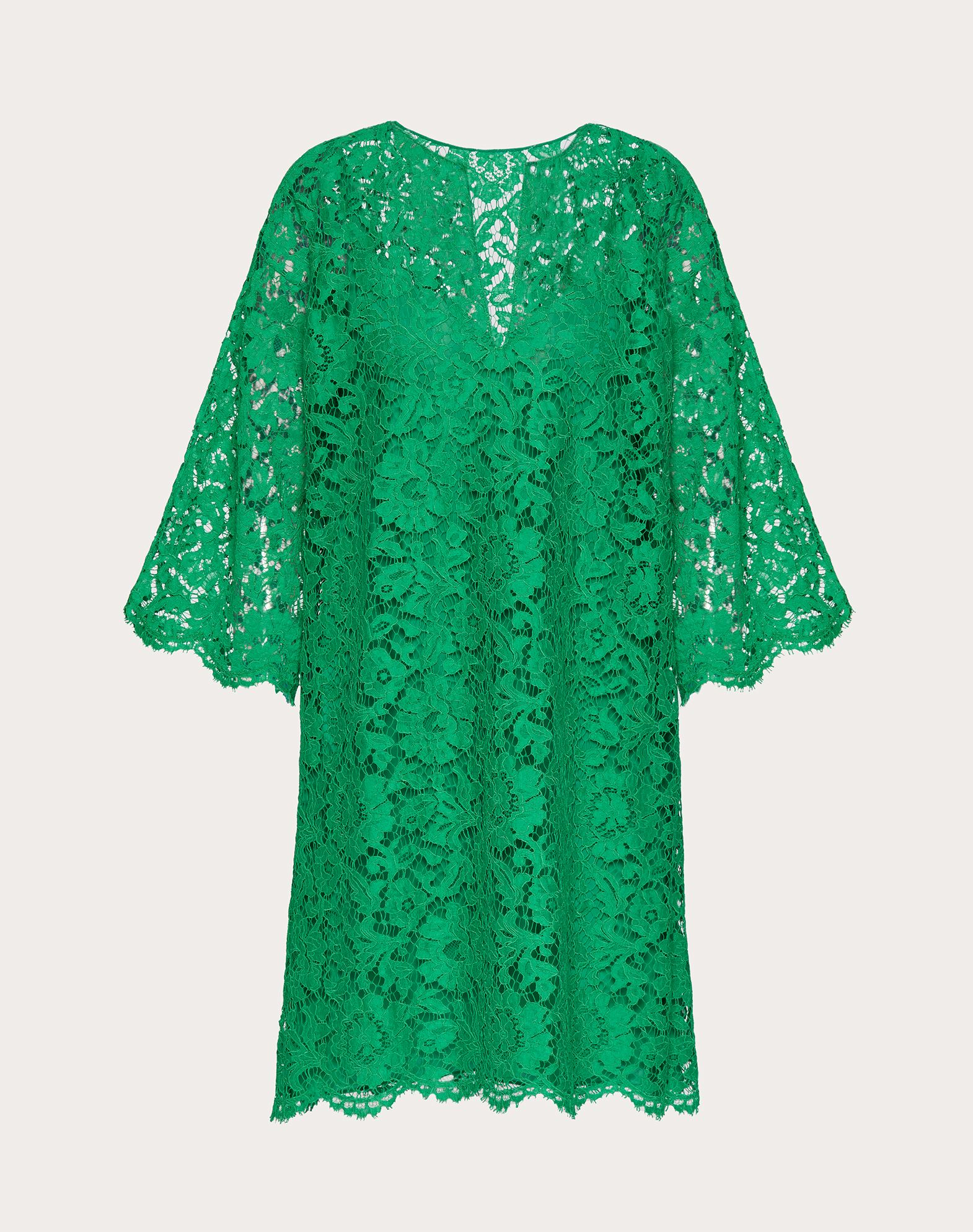 Valentino VALENTINO KAFTAN DRESS IN HEAVY LACE