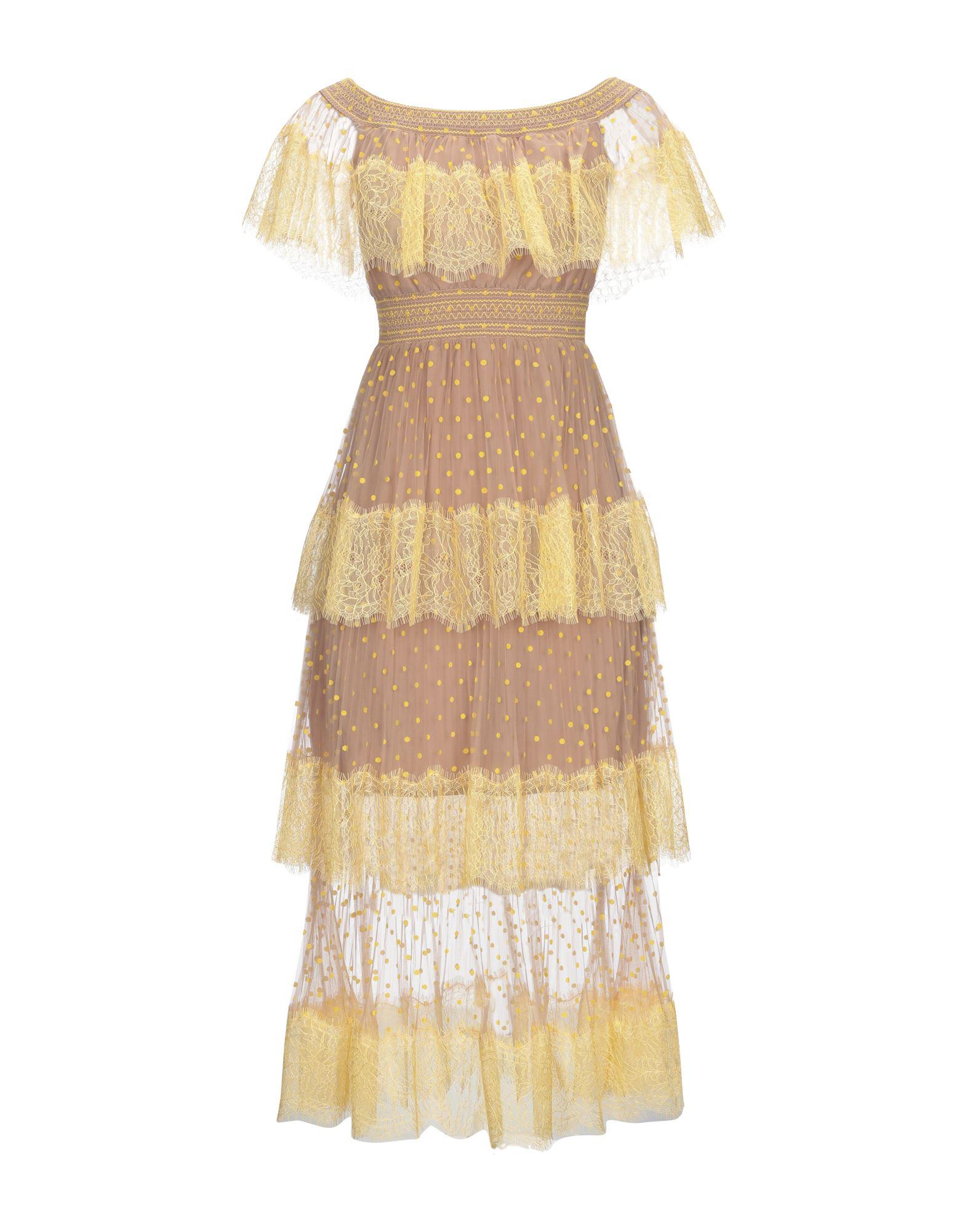 Фото - SELF-PORTRAIT Платье длиной 3/4 self portrait платье с вышивкой люрексом