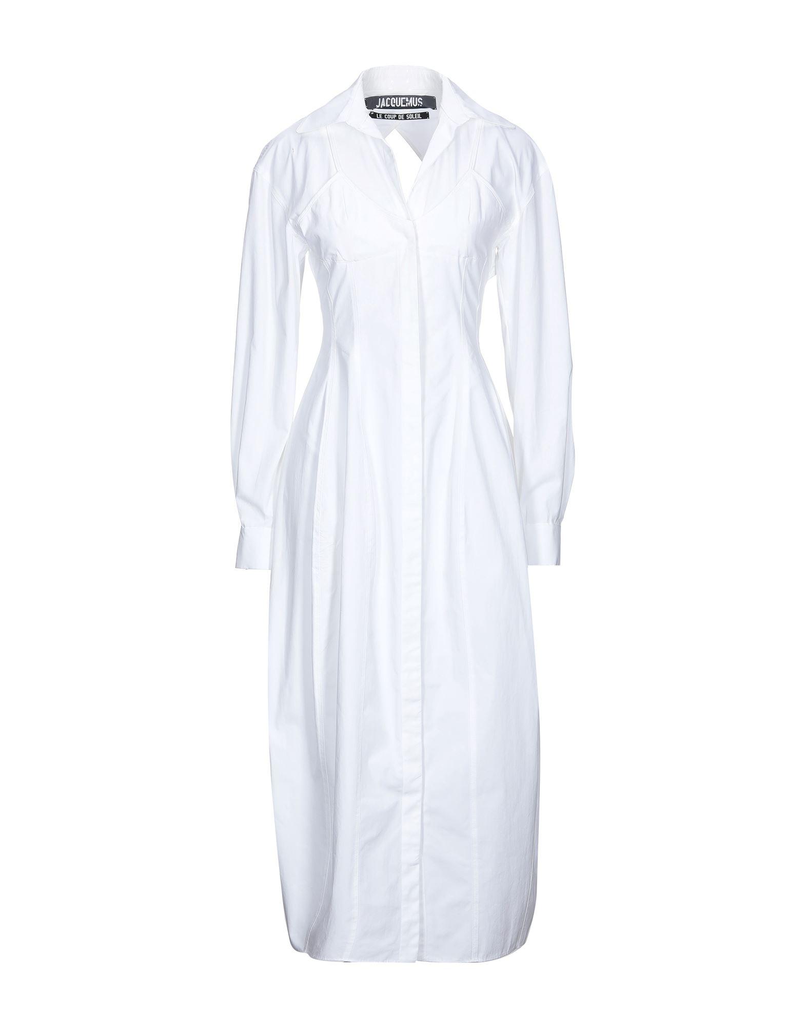 JACQUEMUS Платье длиной 3/4 jacquemus юбка длиной 3 4