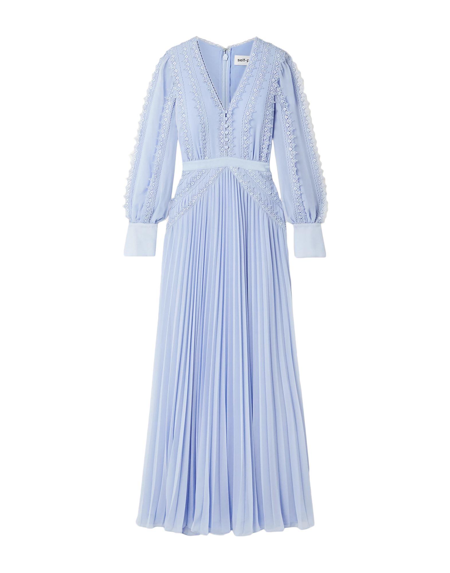 SELF-PORTRAIT Длинное платье фото